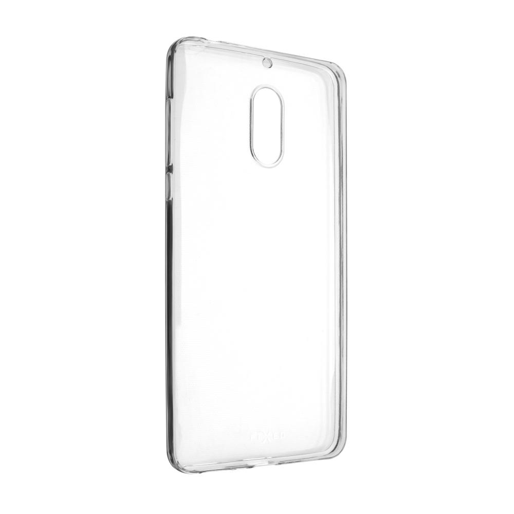 Ultratenké TPU gelové pouzdro FIXED Skin pro Nokia 6, 0,6 mm, čiré