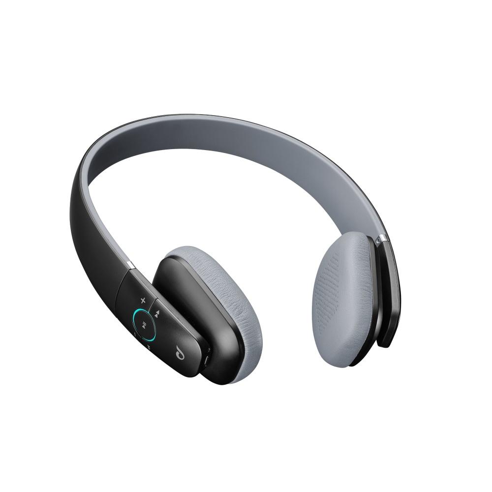 Bezdrátová sluchátka CELLULARLINE PERFECTIO, AQL® certifikace, univerzální ovládání, černá