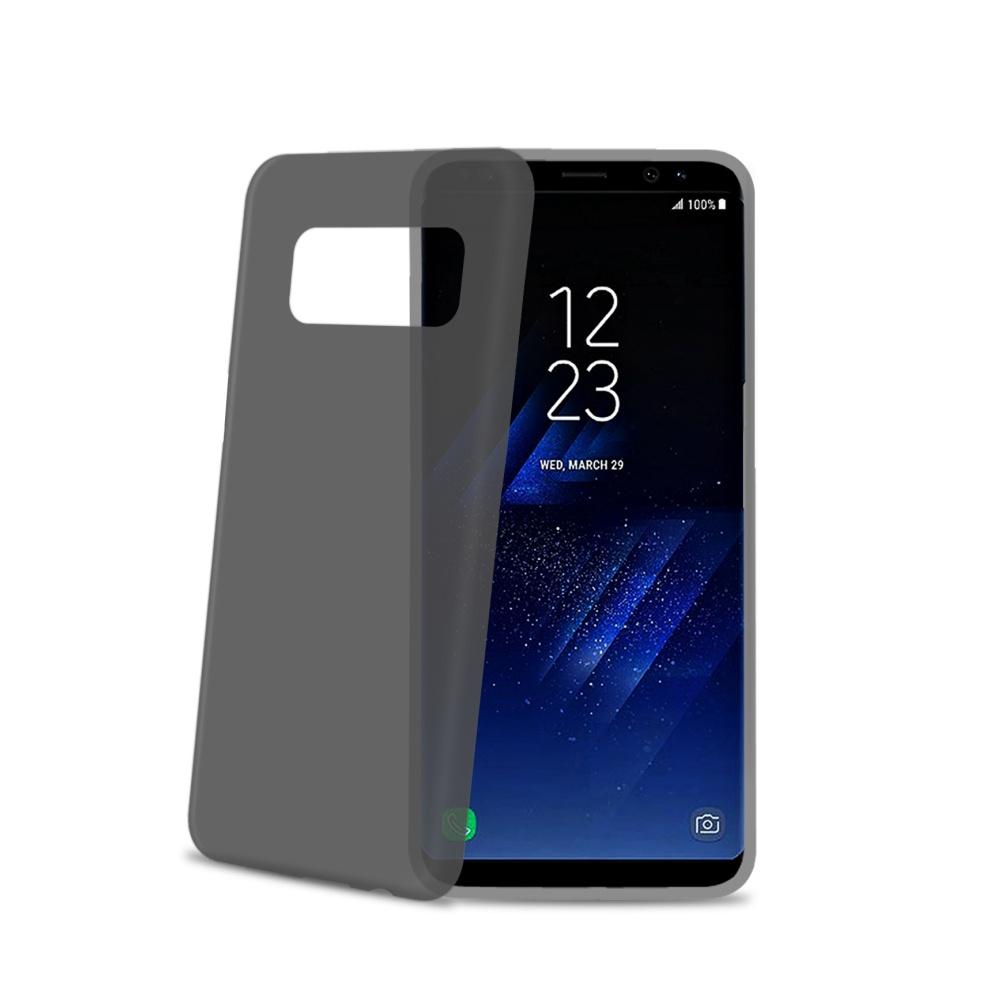 Ultra tenké TPU pouzdro CELLY Frost pro Samsung Galaxy S8 Plus, 0,29 mm, černé