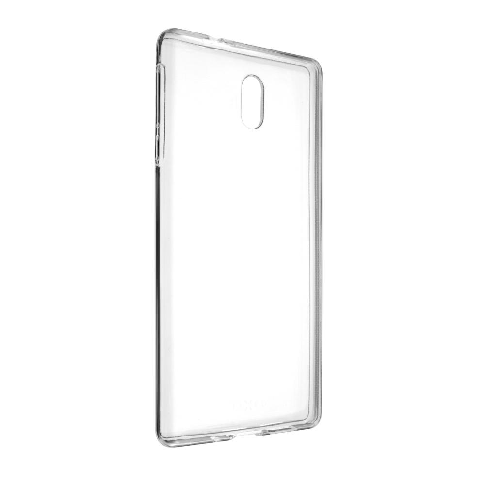 TPU gelové pouzdro FIXED pro Nokia 3, čiré