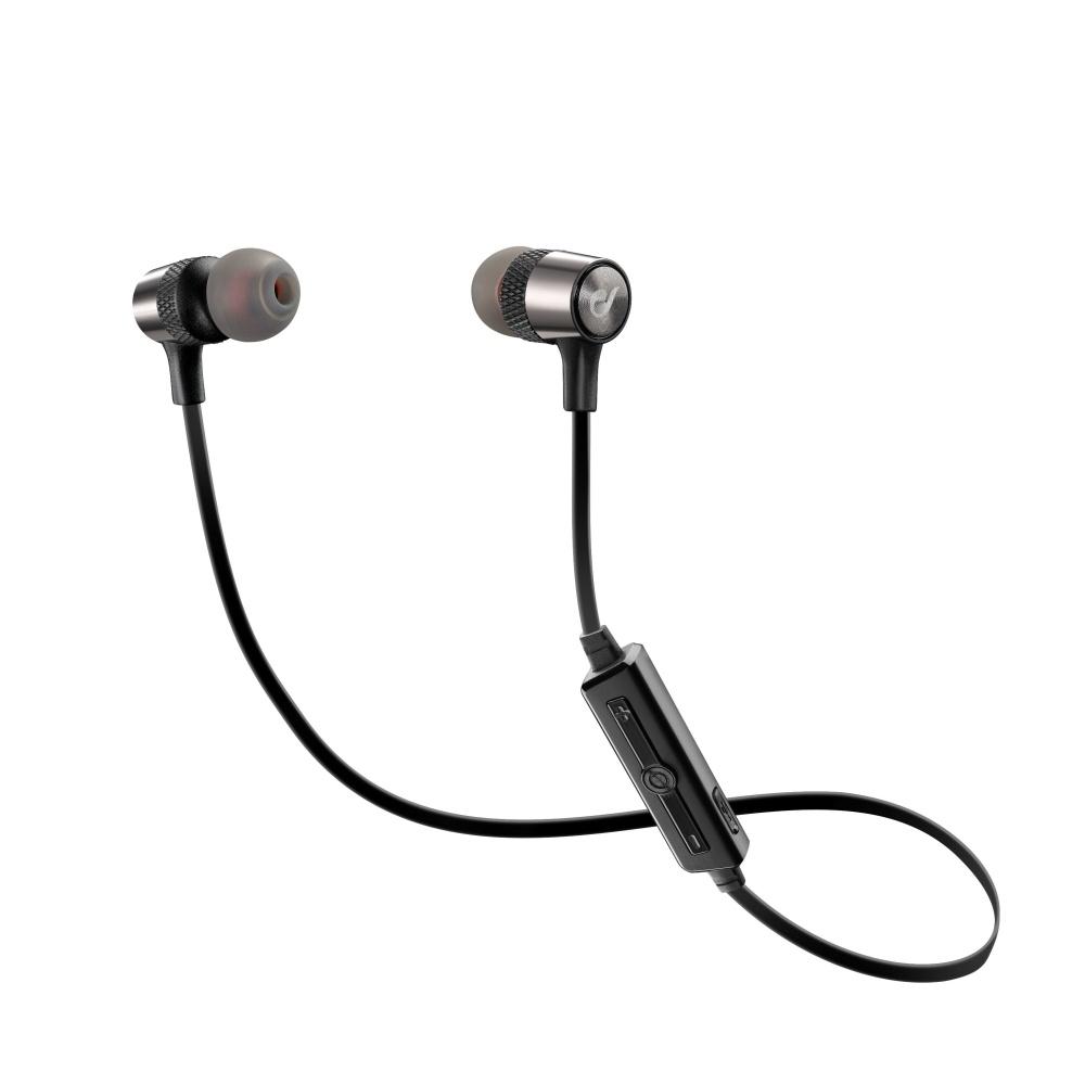 Bezdrátová In-ear stereo sluchátka CELLULARLINE JUNGLE, AQL® certifikace, černá