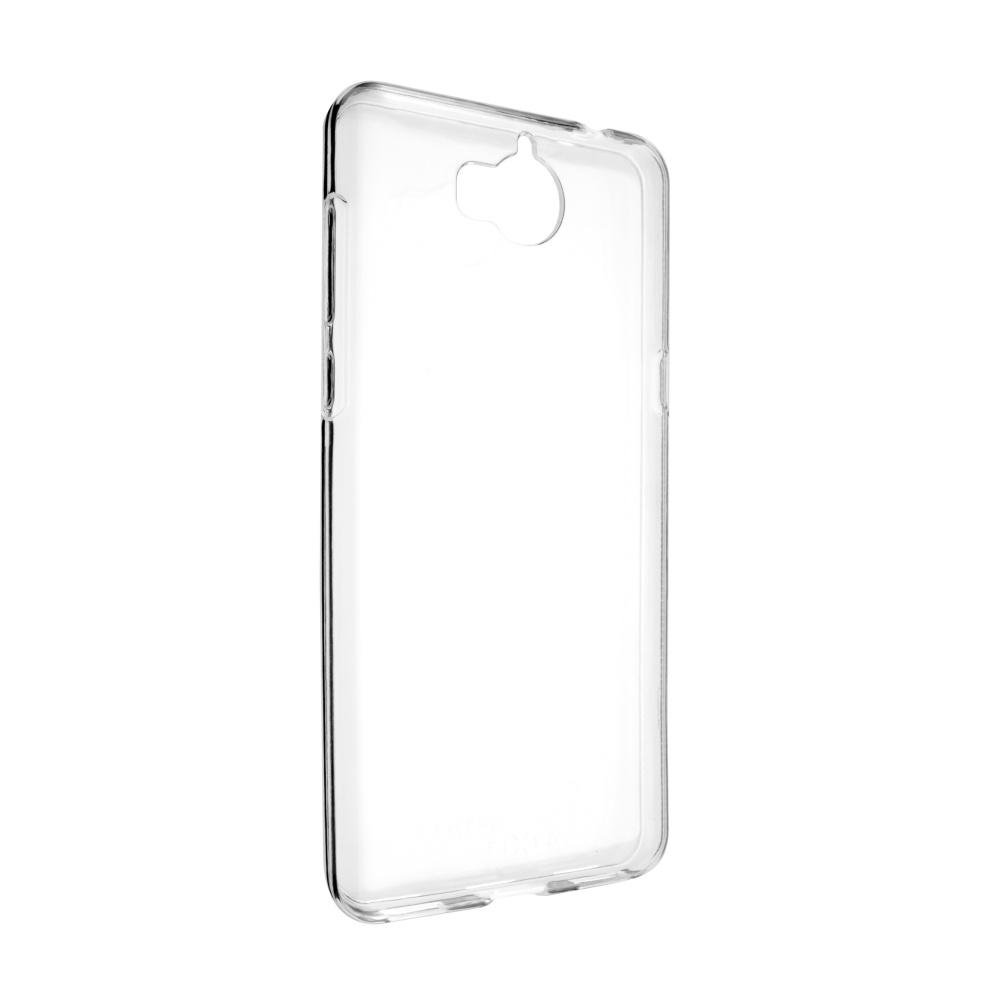 TPU gelové pouzdro FIXED pro Huawei Y5 (2017)/ Y6 (2017), čiré