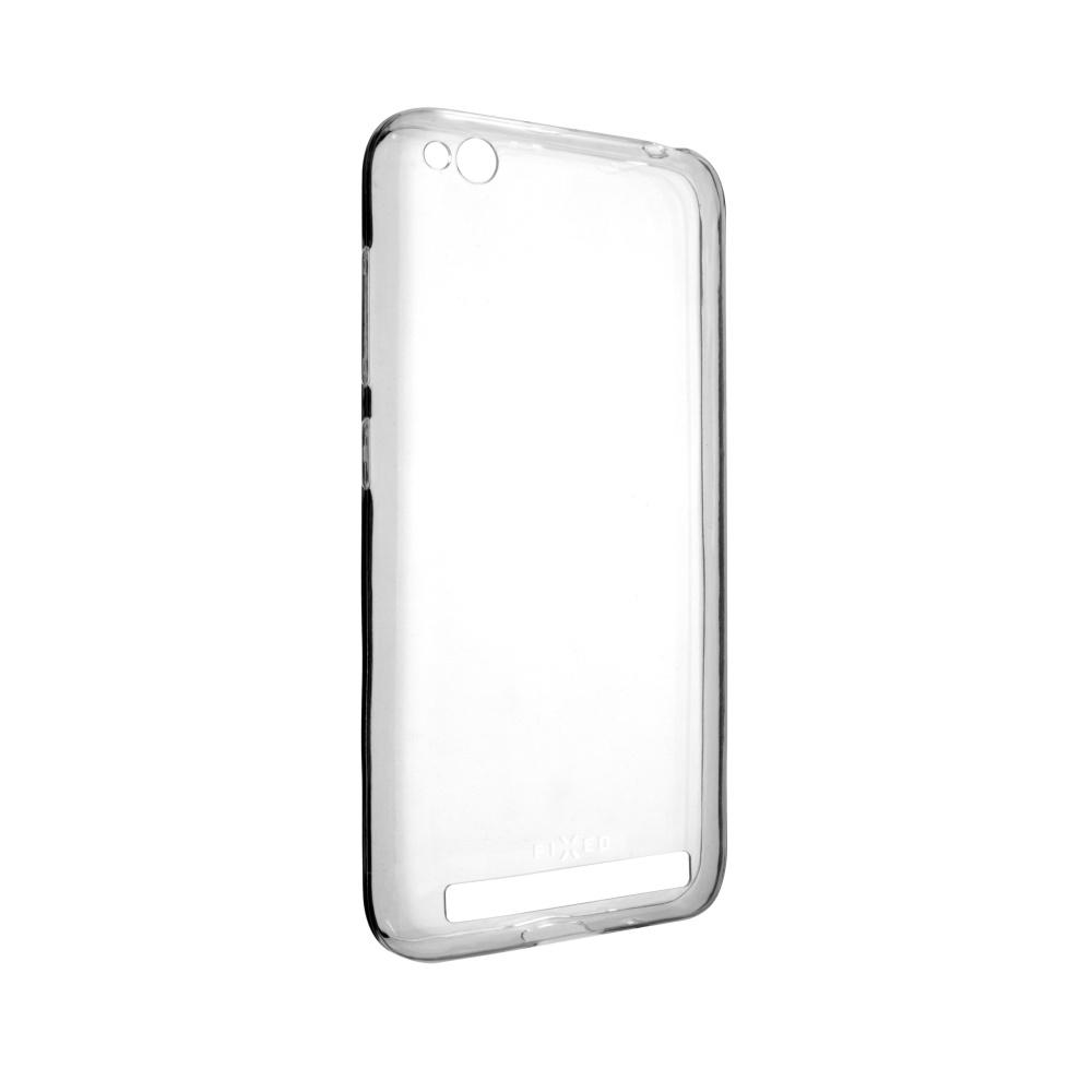 Ultratenké TPU gelové pouzdro FIXED Skin pro Xiaomi Redmi 5A Global, 0,6 mm, čiré