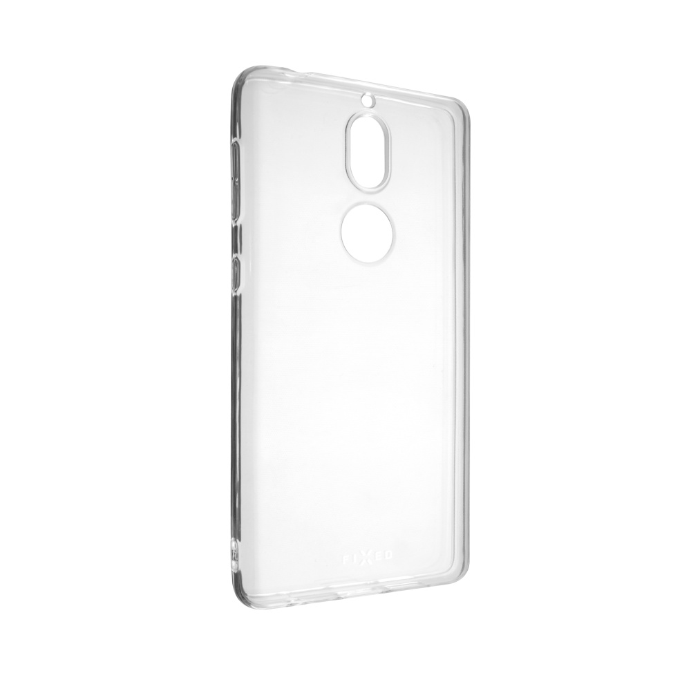 TPU gelové pouzdro FIXED pro Nokia 7, čiré