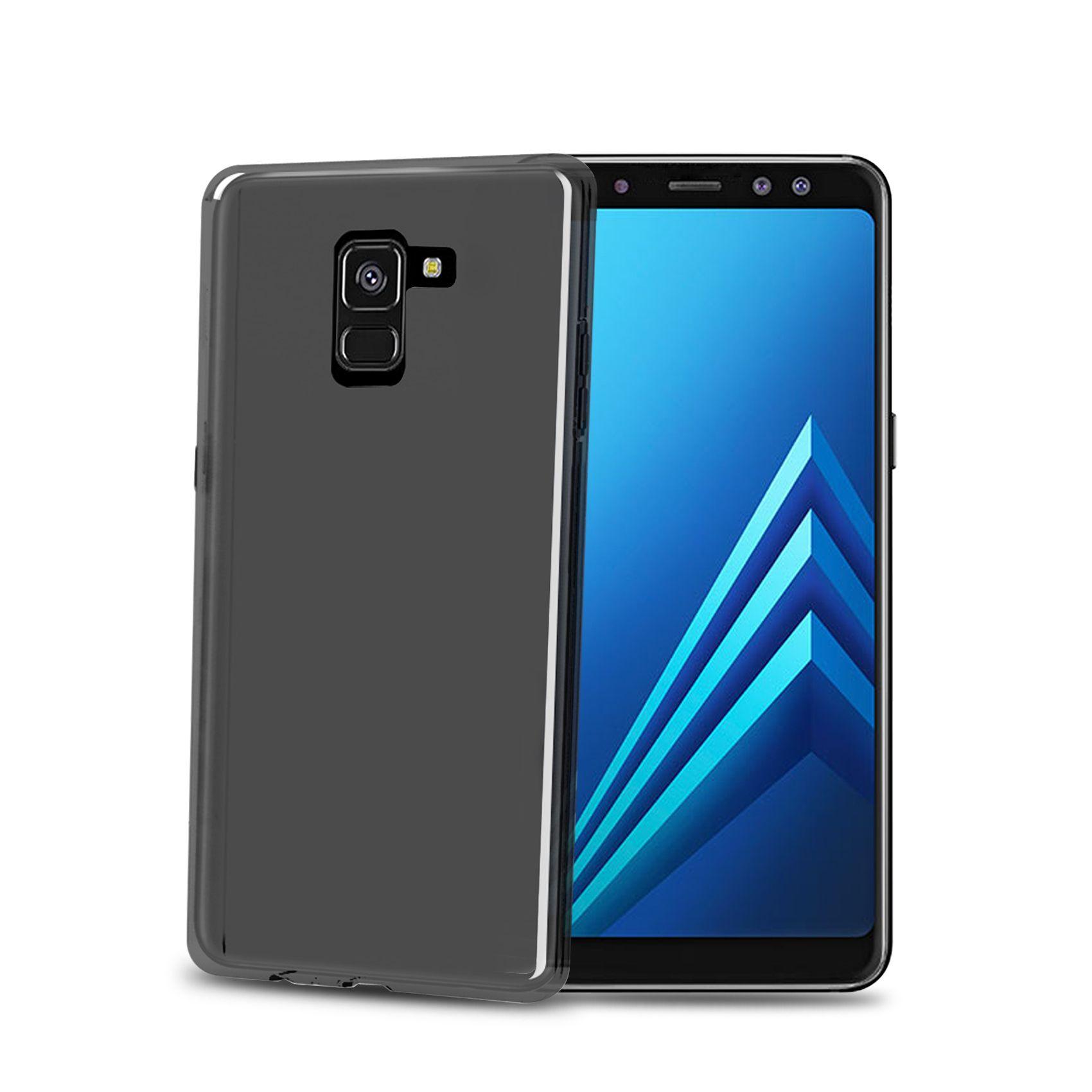 TPU pouzdro CELLY Gelskin pro Samsung Galaxy A8 (2018), černé