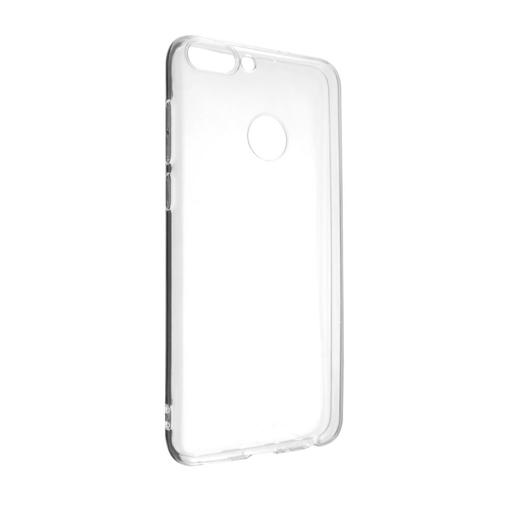 Ultratenké TPU gelové pouzdro FIXED Skin pro Huawei P Smart (2018), 0,6 mm, čiré