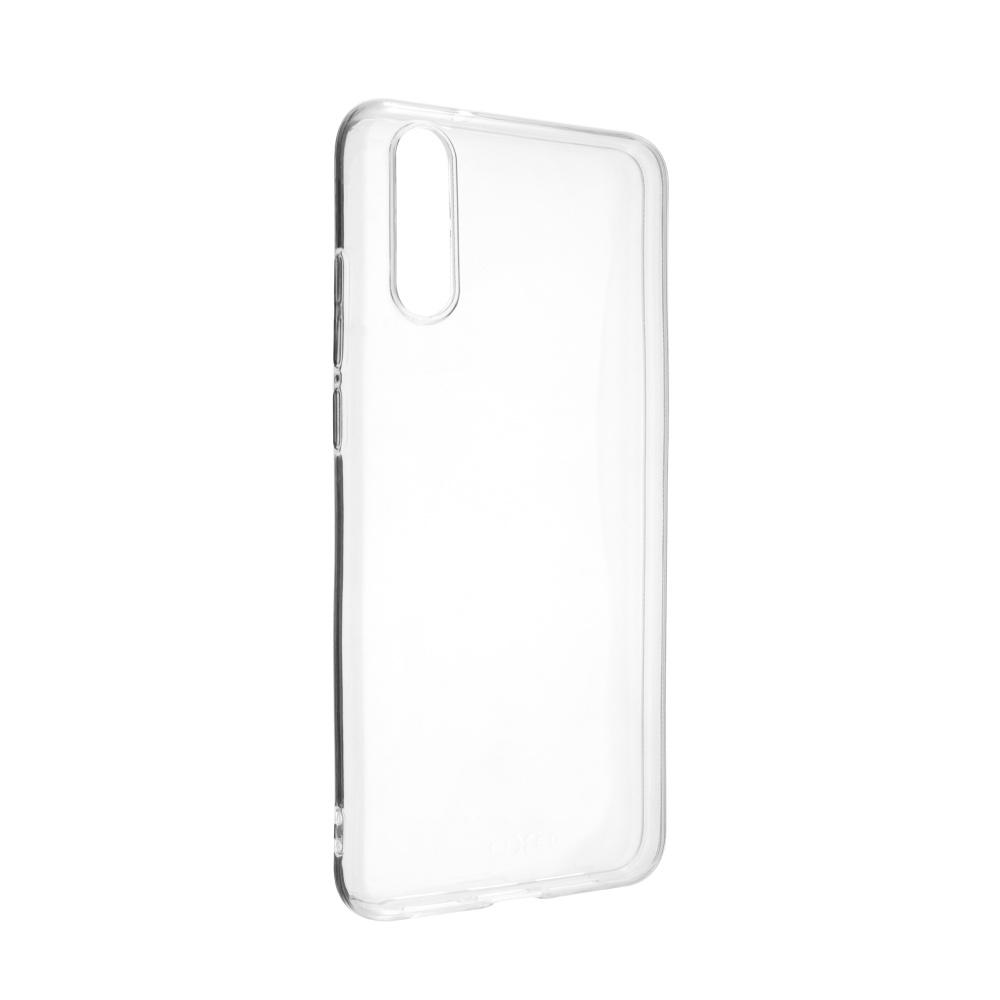 Ultratenké TPU gelové pouzdro FIXED Skin pro Huawei P20, 0,6 mm, čiré
