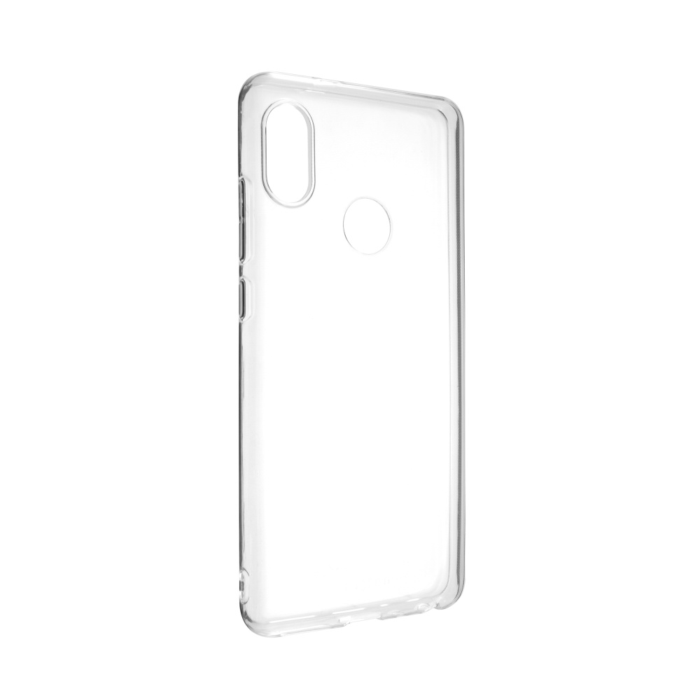 Ultratenké TPU gelové pouzdro FIXED Skin pro Xiaomi Redmi Note 5, 0,6 mm, čiré