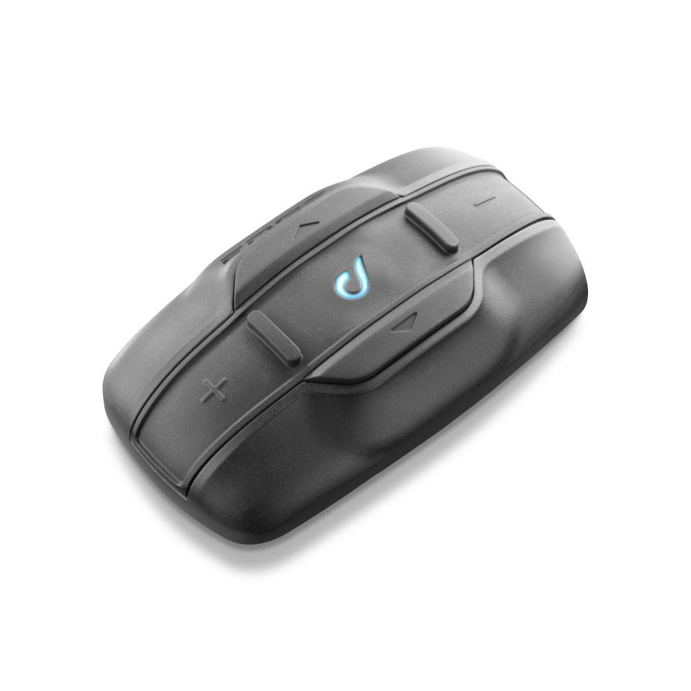 Bluetooth handsfree pro uzavřené a otevřené přilby CellularLine Interphone EDGE, Twin Pack