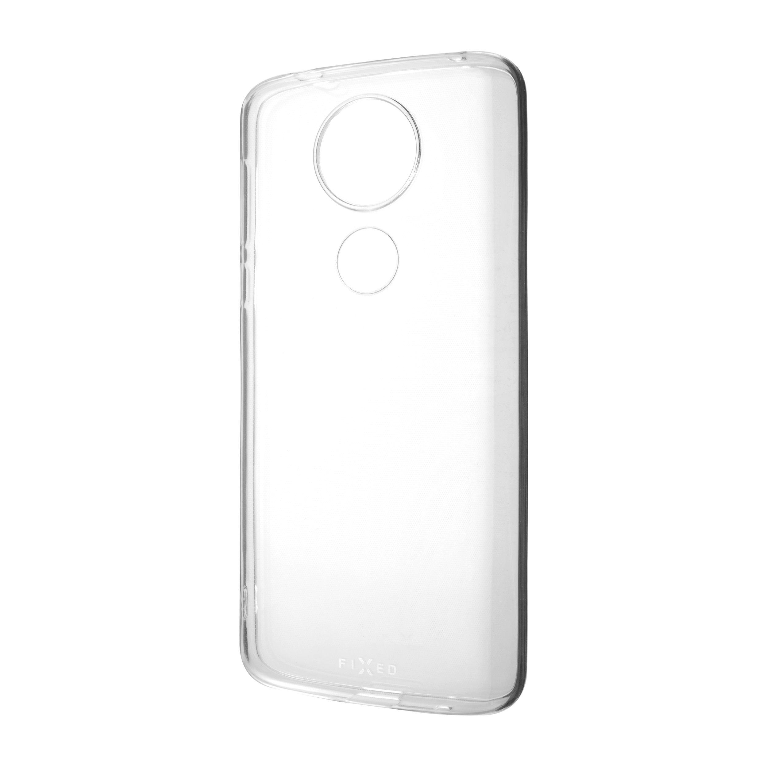 TPU gelové pouzdro FIXED pro Motorola Moto G6 Play, čiré