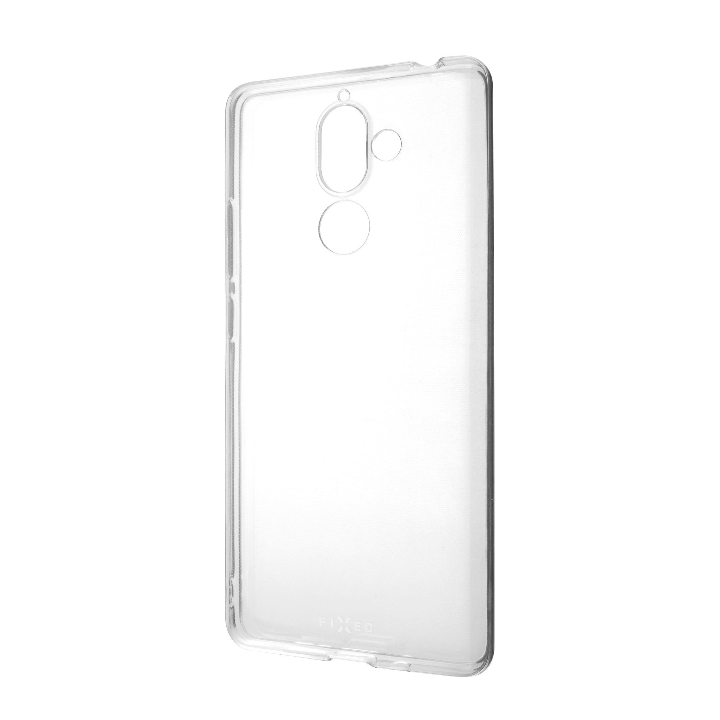 Ultratenké TPU gelové pouzdro FIXED Skin pro Nokia 7 Plus, 0,6 mm, čiré