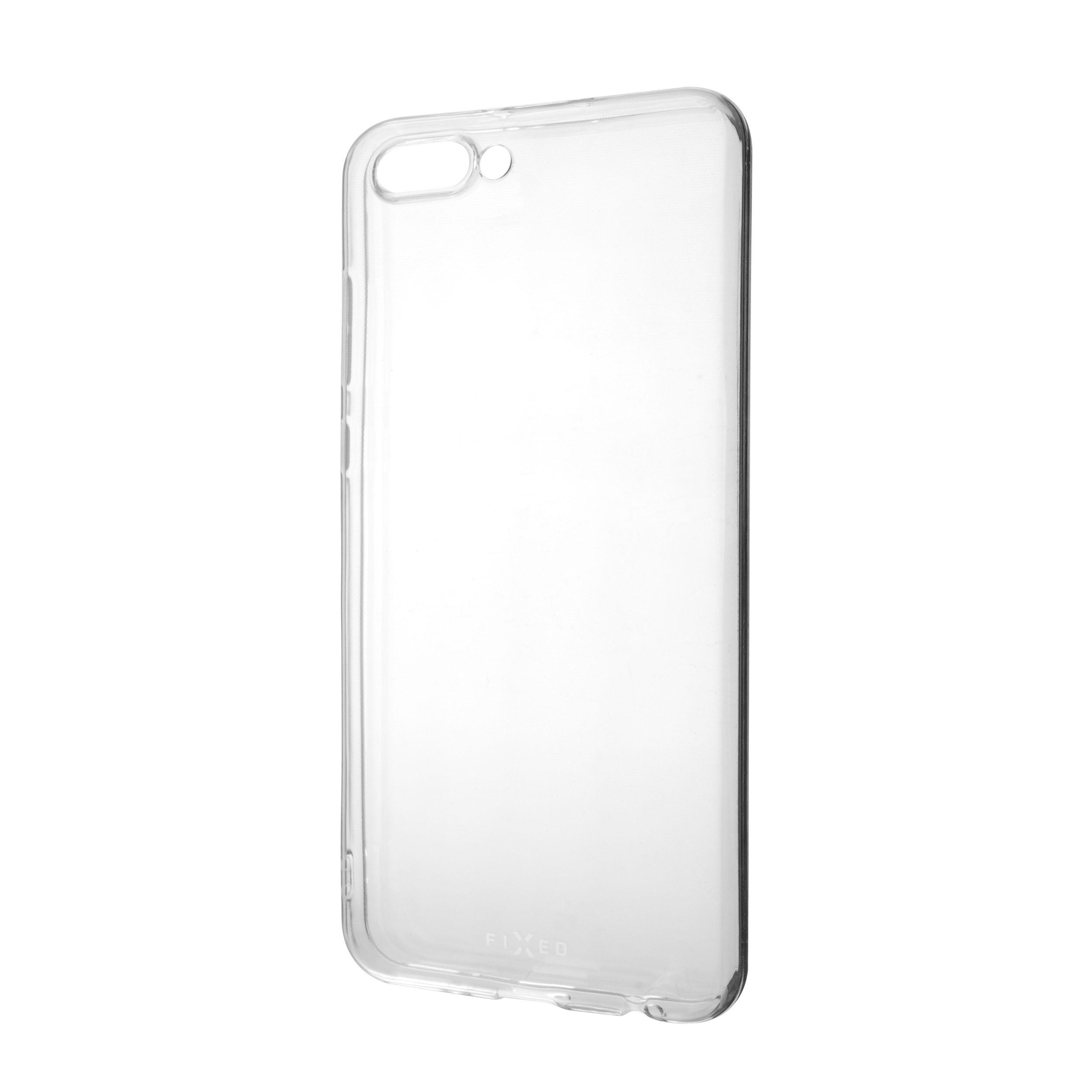 Ultratenké TPU gelové pouzdro FIXED Skin pro Honor View 10, 0,6 mm, čiré
