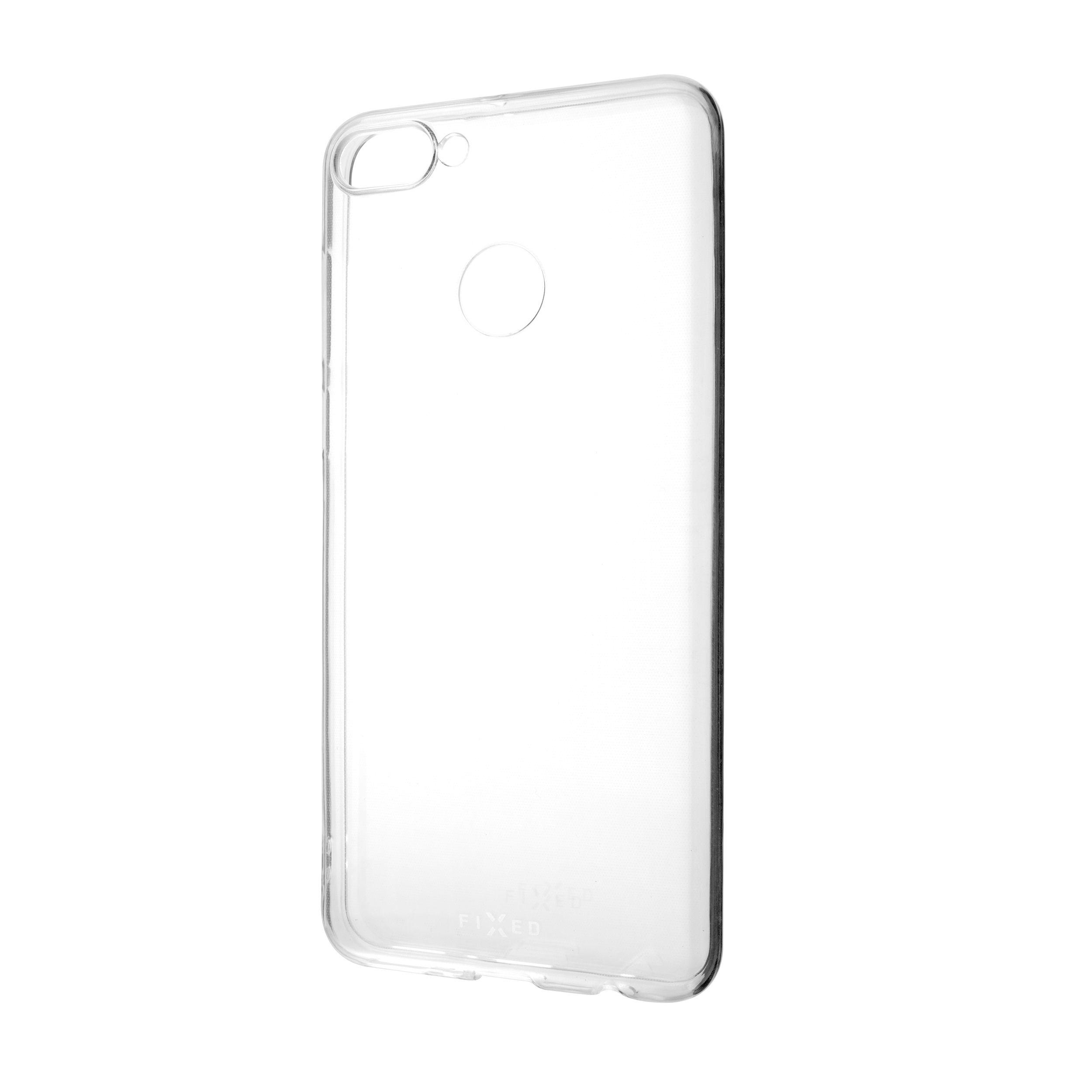 Ultratenké TPU gelové pouzdro FIXED Skin pro Huawei Y9 (2018), 0,6 mm, čiré