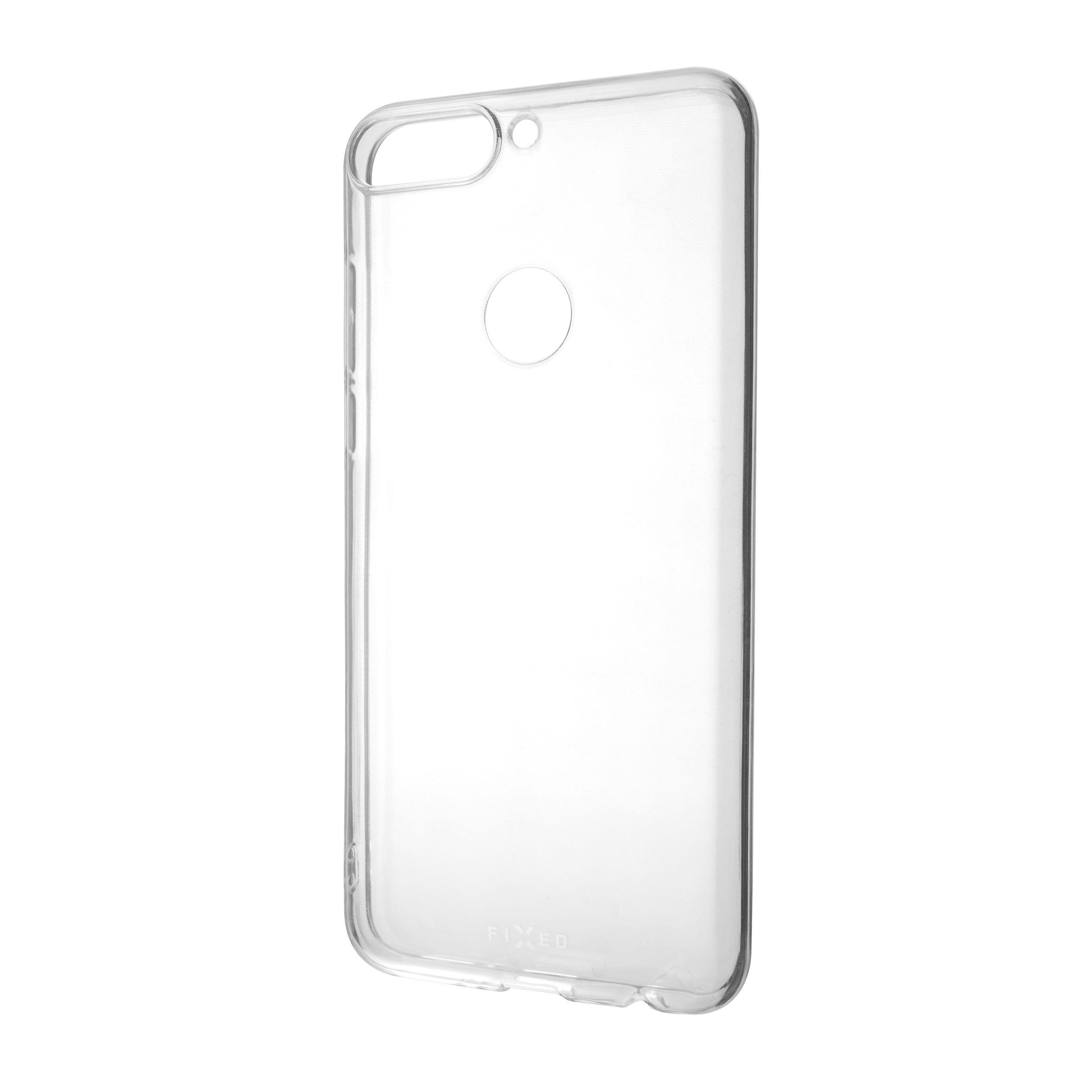 Ultratenké TPU gelové pouzdro FIXED Skin pro Honor 7C, 0,6 mm, čiré
