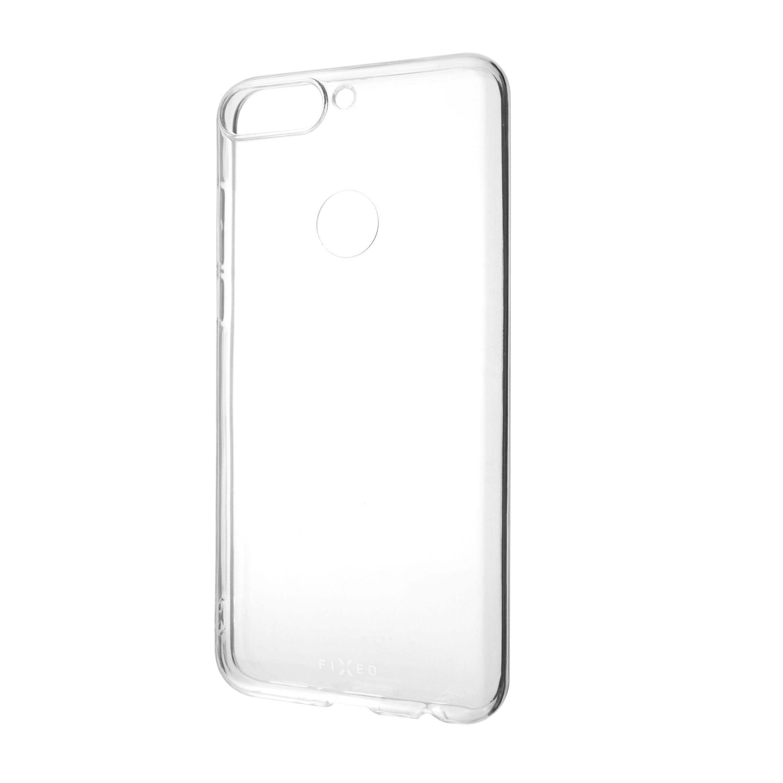 Ultratenké TPU gelové pouzdro FIXED Skin pro Huawei Y7 Prime (2018), 0,6 mm, čiré