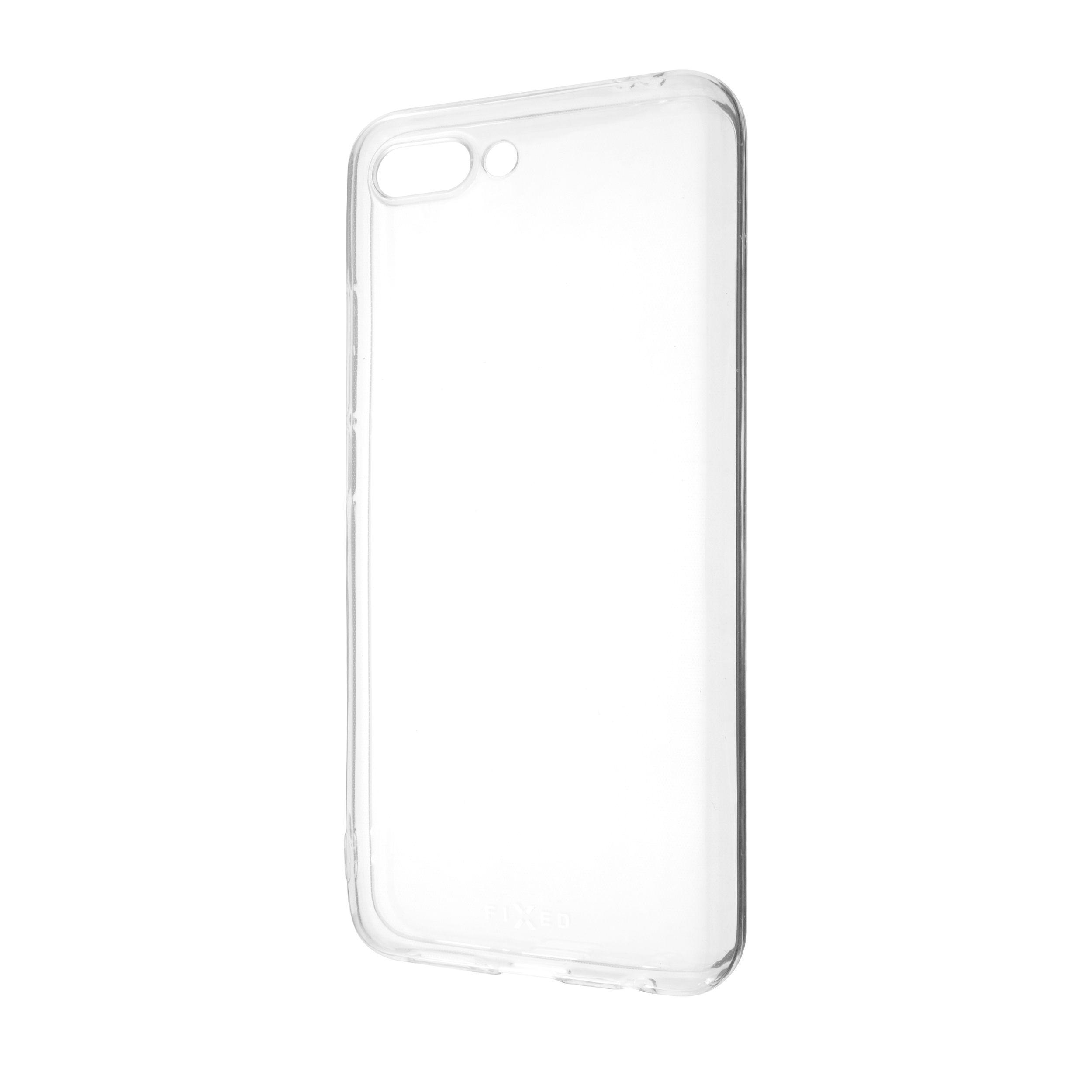 Ultratenké TPU gelové pouzdro FIXED Skin pro Honor 10, 0,6 mm, čiré