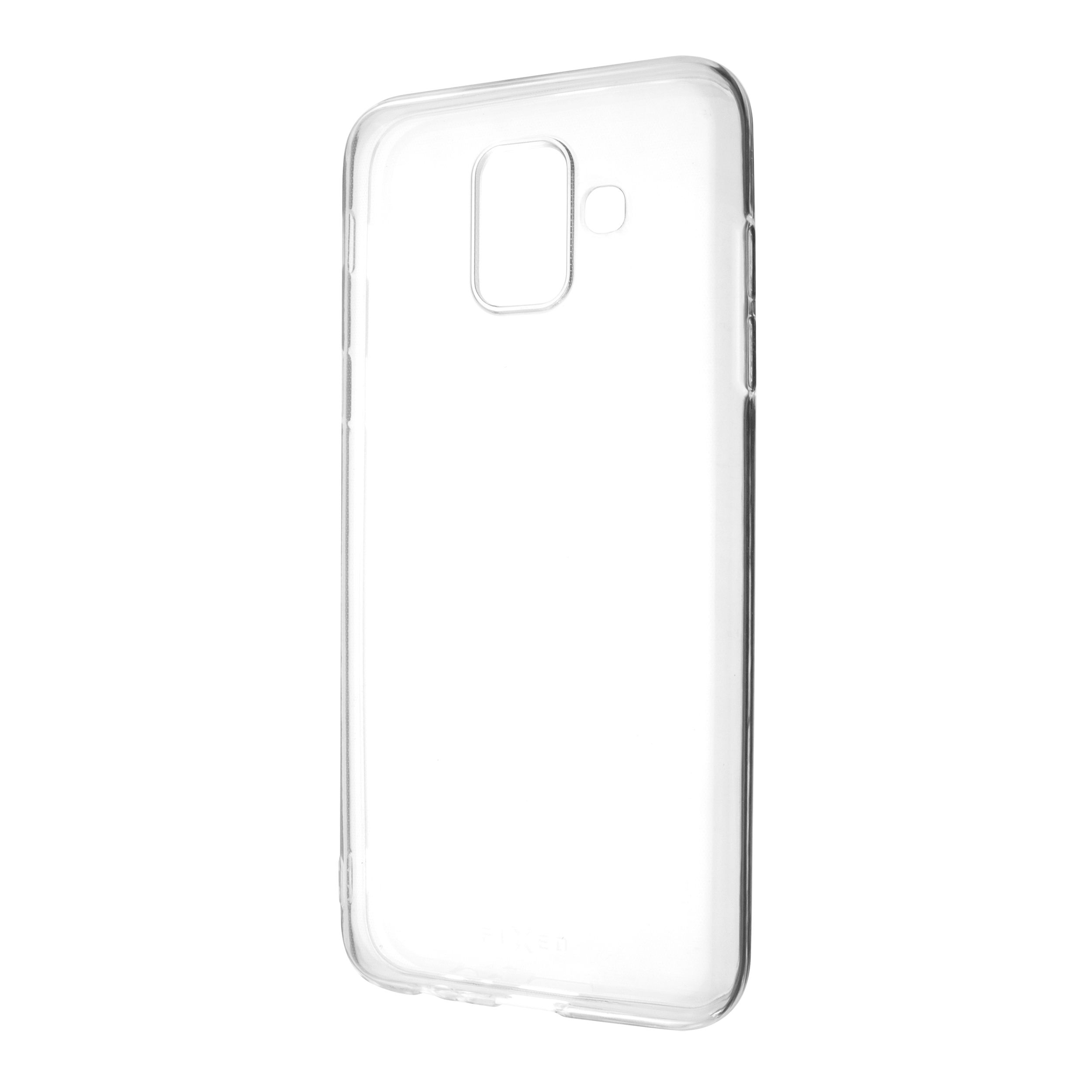 Ultratenké TPU gelové pouzdro FIXED Skin pro Samsung Galaxy A6 (2018), 0,6 mm, čiré