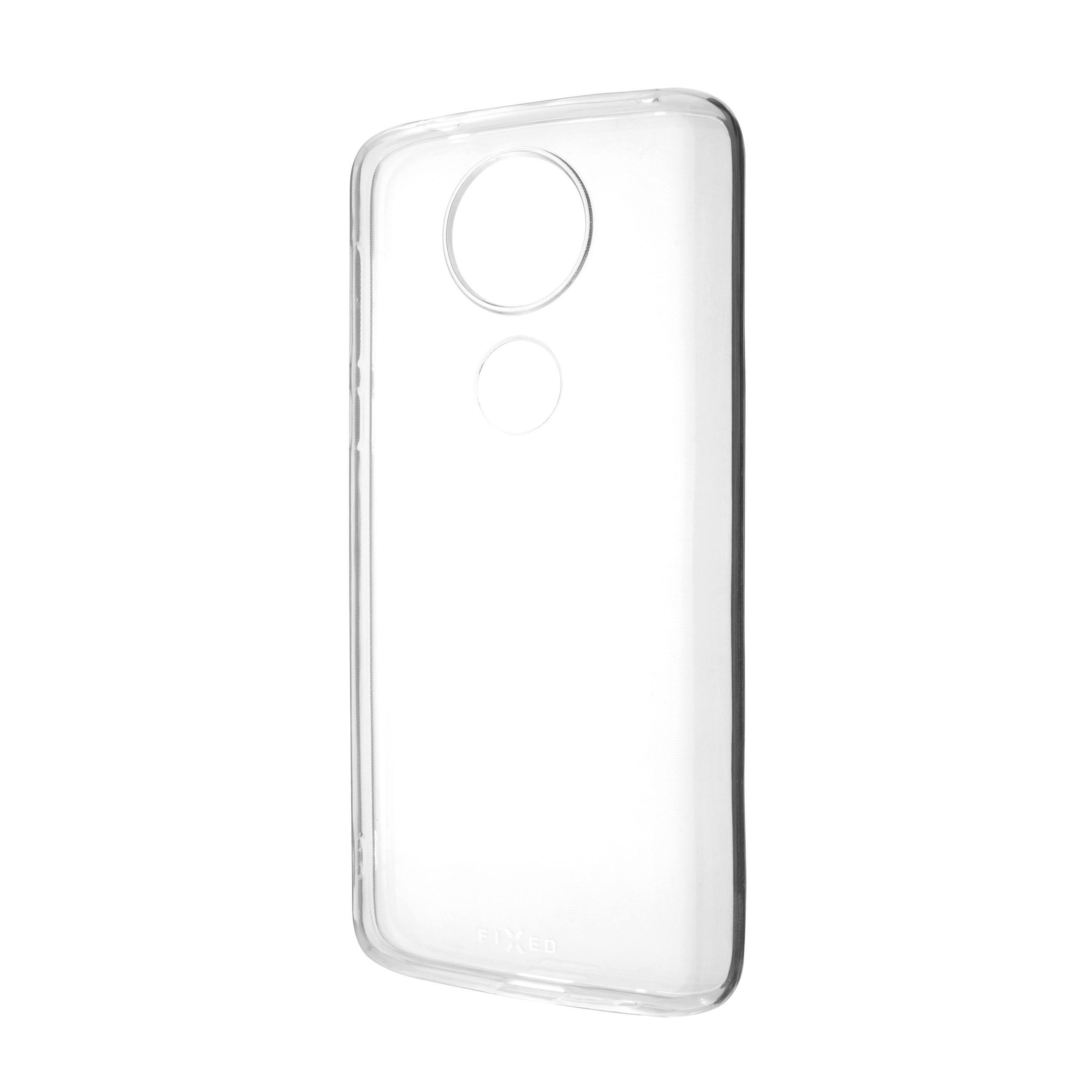 TPU gelové pouzdro FIXED pro Motorola Moto E5 Plus, čiré