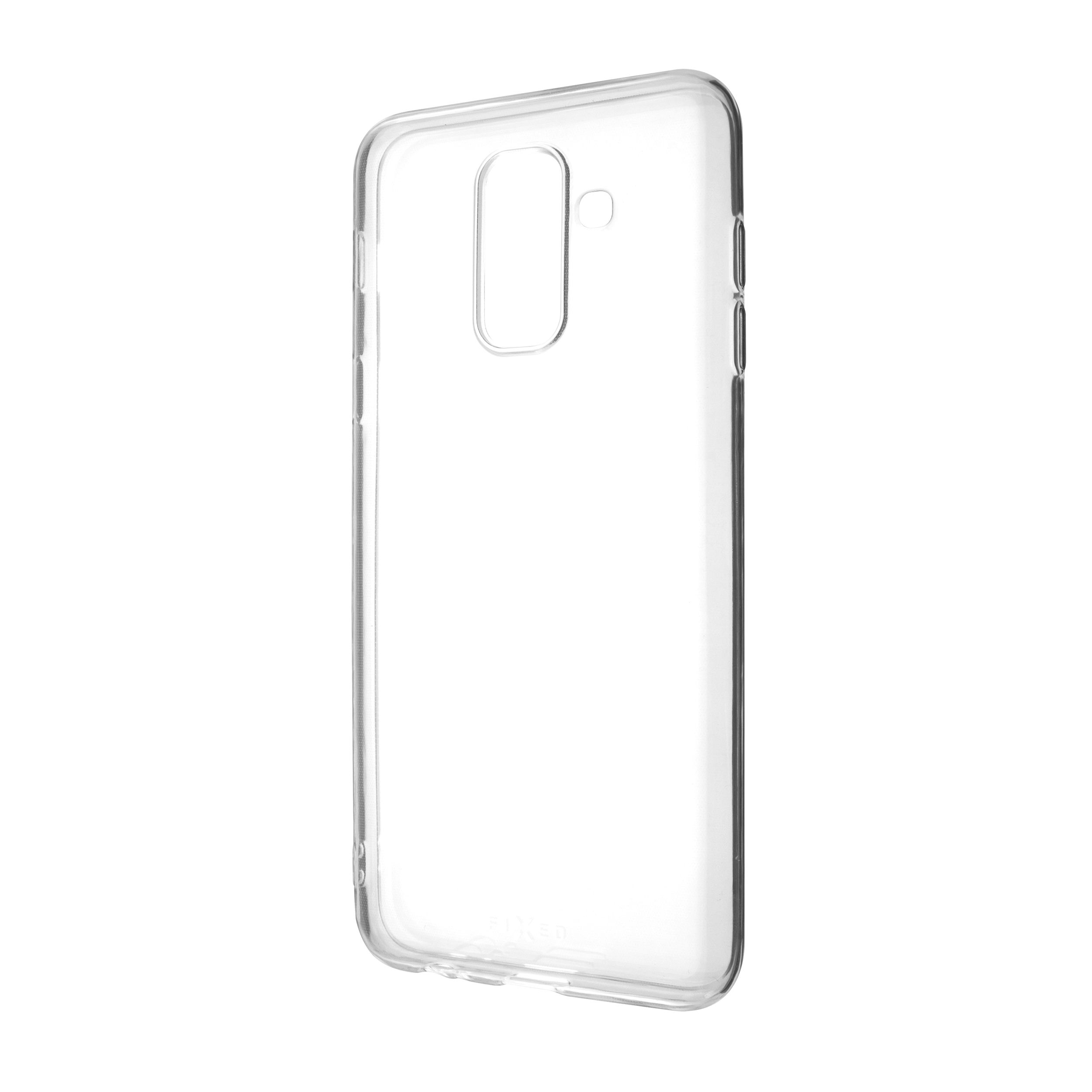 Ultratenké TPU gelové pouzdro FIXED Skin pro Samsung Galaxy A6+ (2018), 0,6 mm, čiré