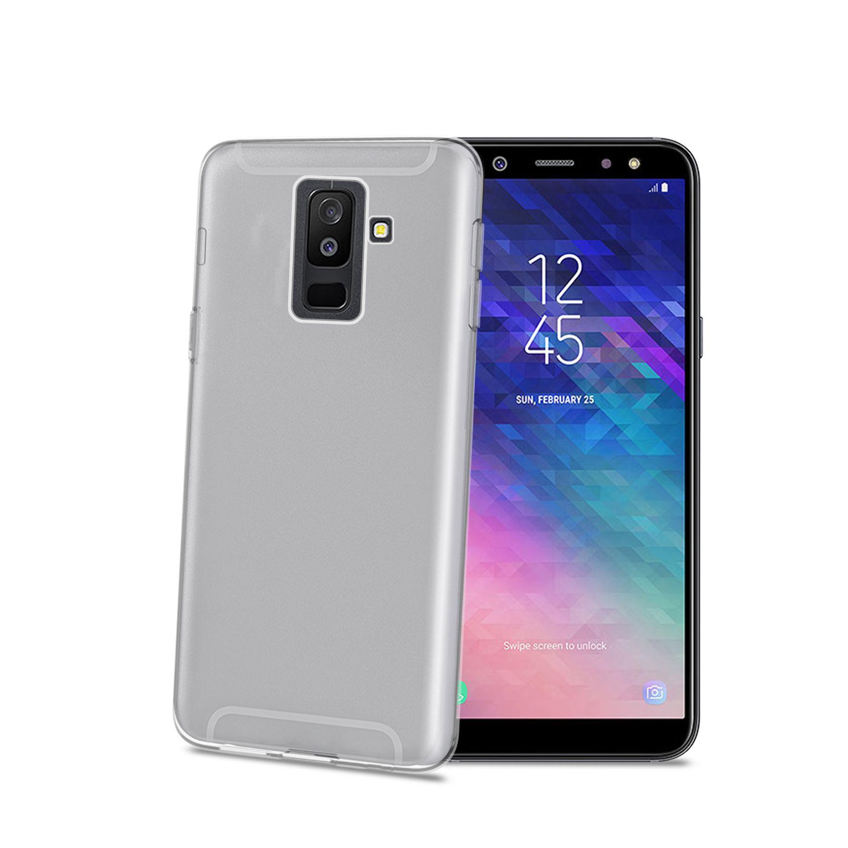 TPU pouzdro CELLY Gelskin pro Samsung Galaxy A6+ (2018), bezbarvé