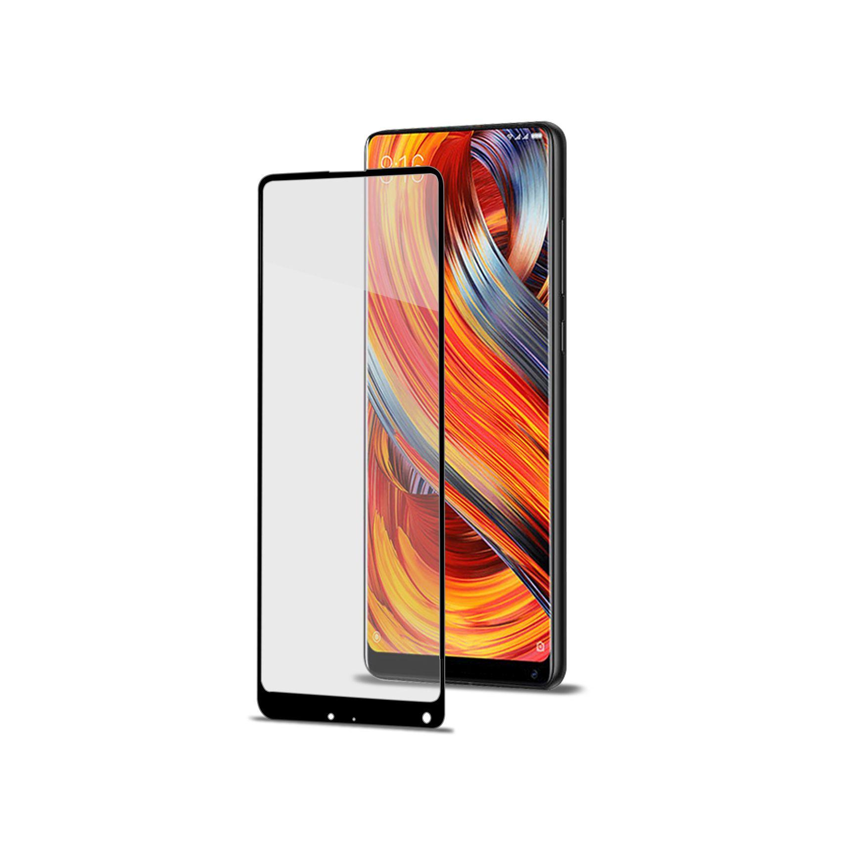 Ochranné tvrzené sklo CELLY Full Glass pro Xiaomi Mix 2/Mix Evo, černé