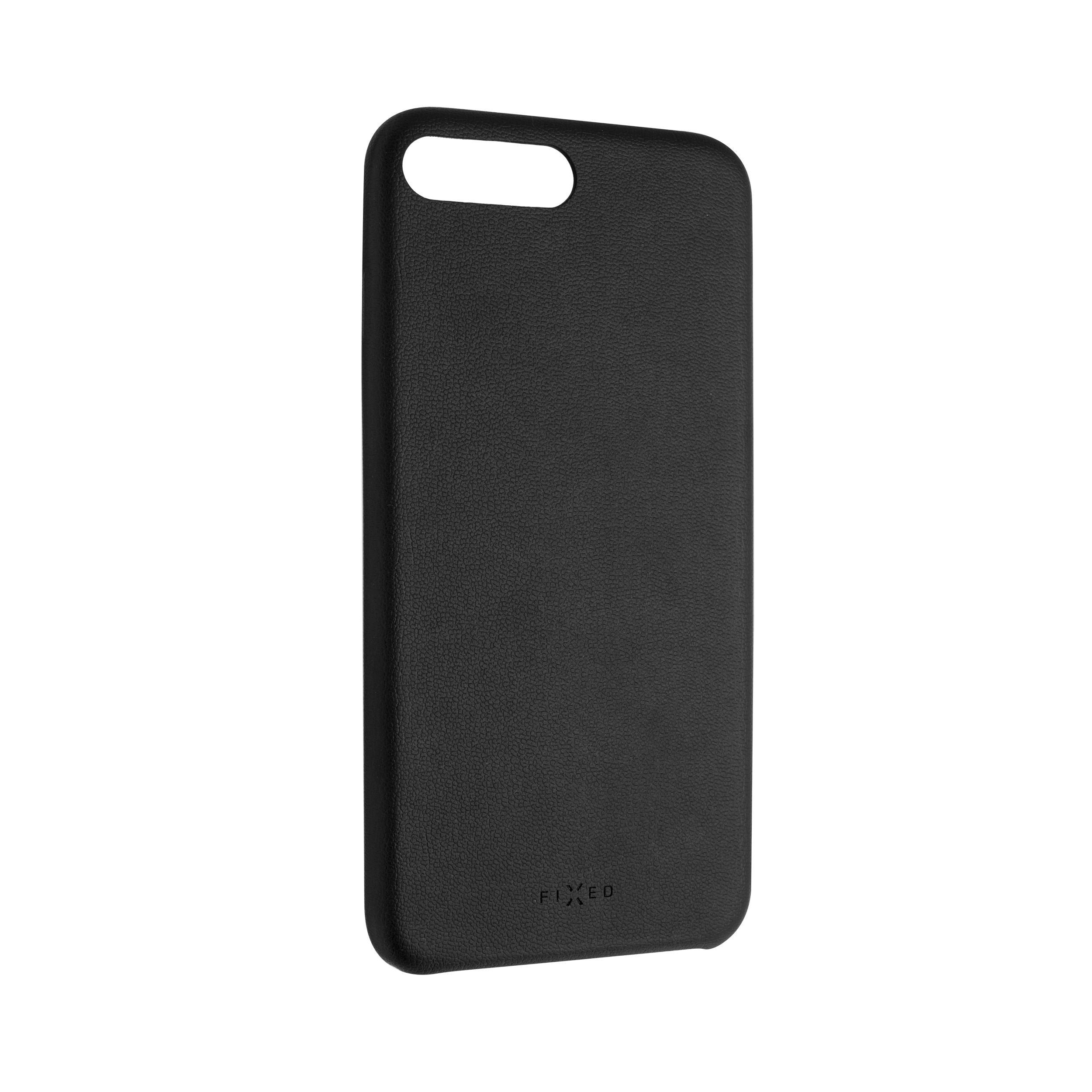 Zadní kryt FIXED Tale pro Apple iPhone 7 Plus/8 Plus, PU kůže, černý