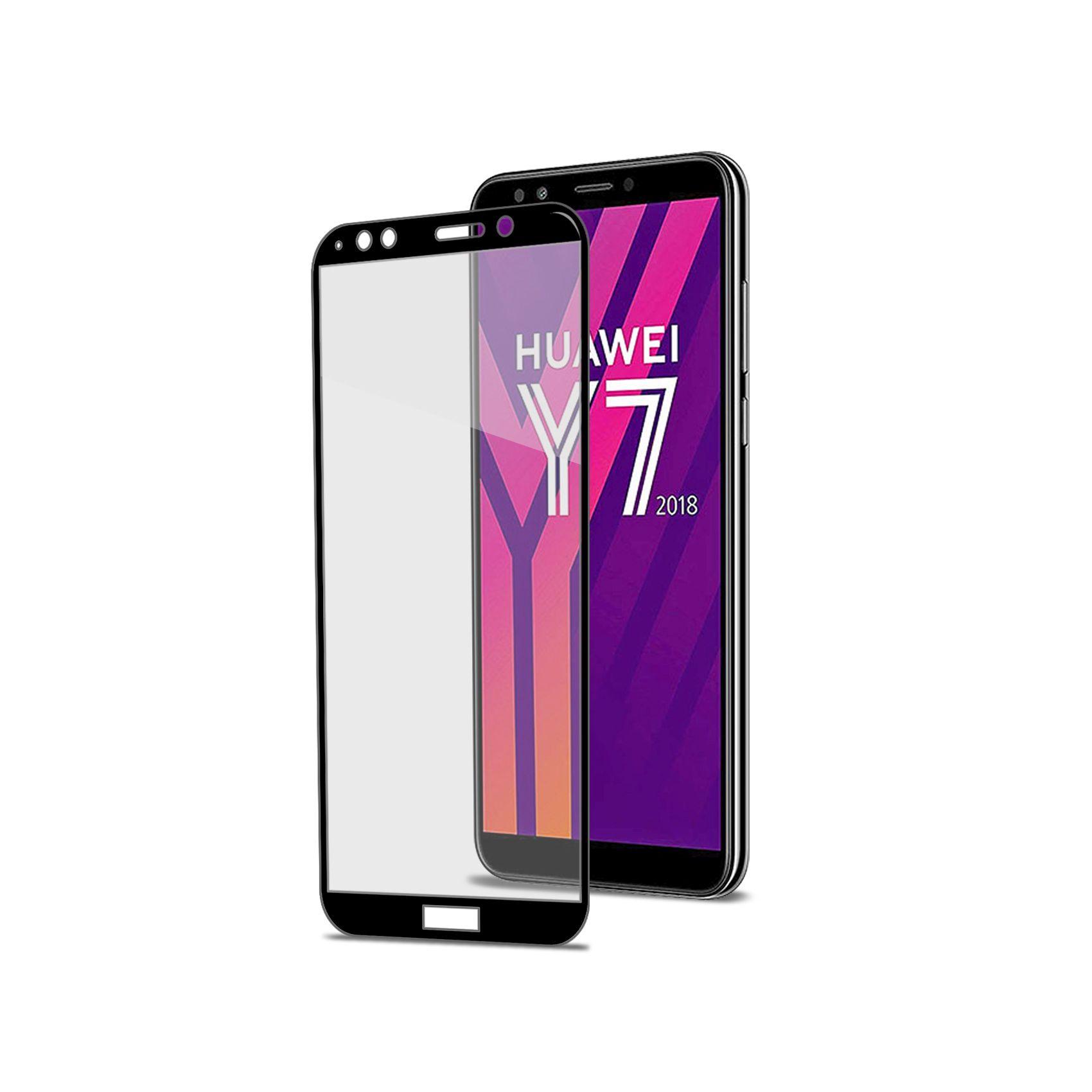 Ochranné tvrzené sklo CELLY Full Glass pro Huawei Y7 (2018), černé