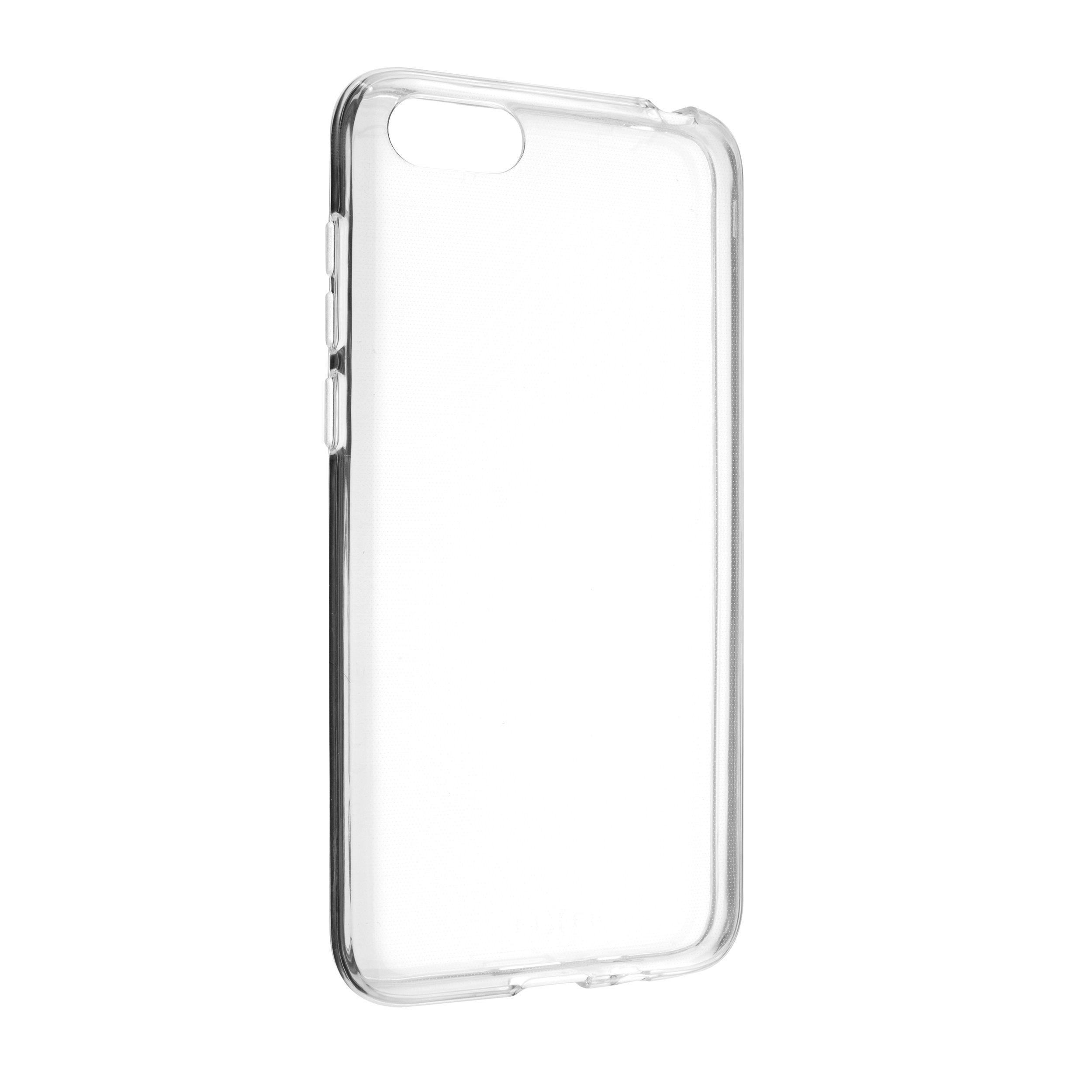 Ultratenké TPU gelové pouzdro FIXED Skin pro Honor 7S, 0,6 mm, čiré