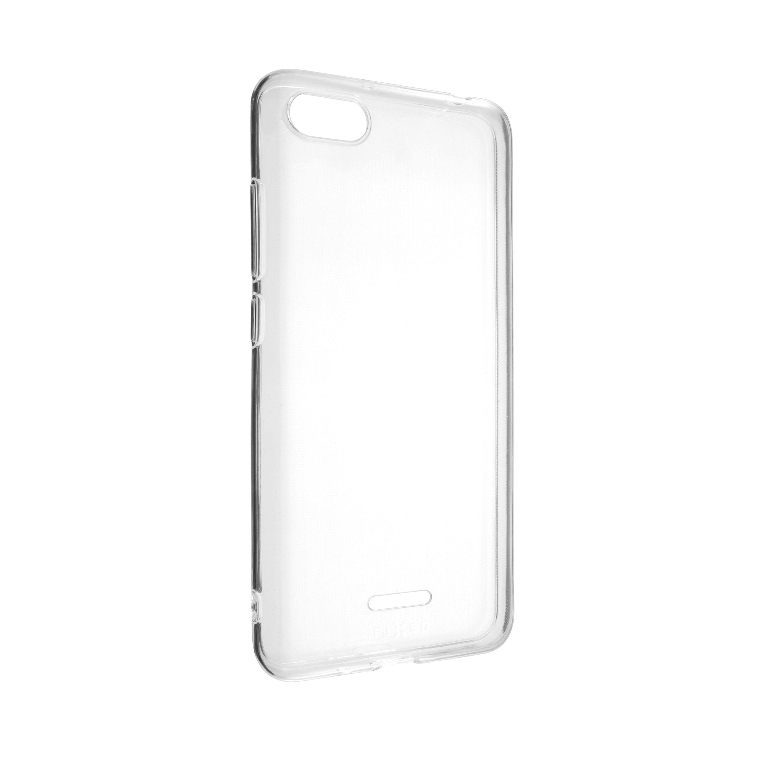 Ultratenké TPU gelové pouzdro FIXED Skin pro Xiaomi Redmi 6A, 0,6 mm, čiré