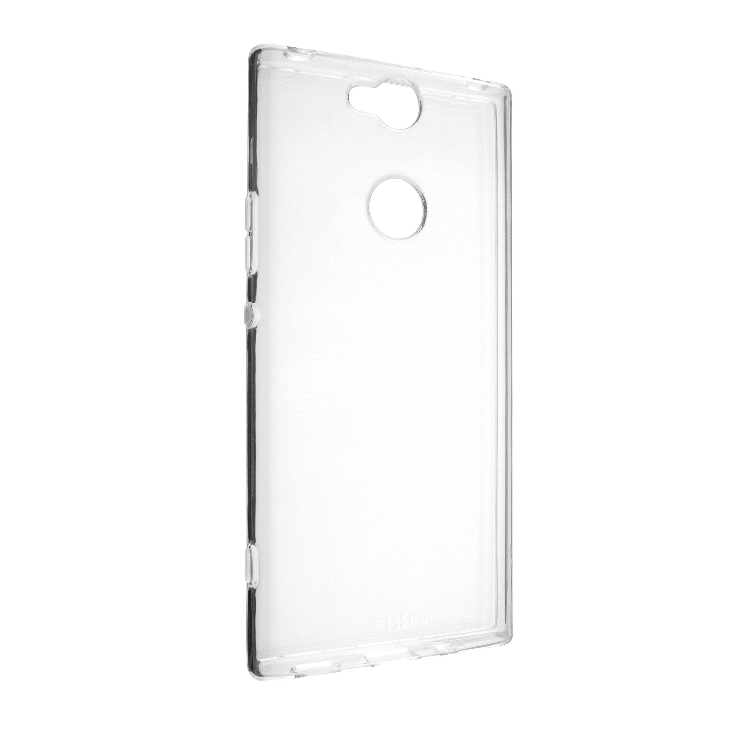 Ultratenké TPU gelové pouzdro FIXED Skin pro Sony Xperia XA2 Plus, 0,6 mm, čiré