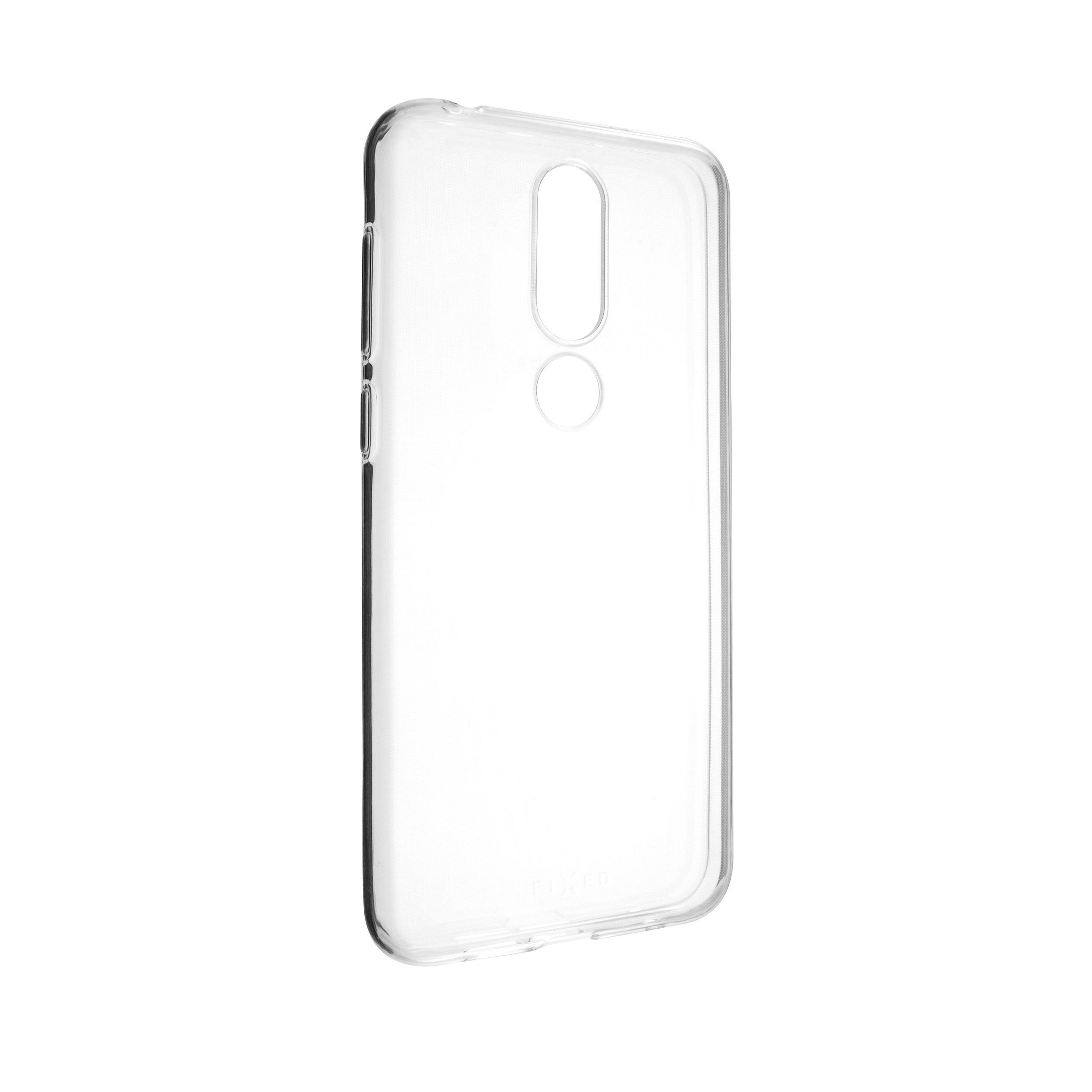 Ultratenké TPU gelové pouzdro FIXED Skin pro Nokia 6.1 Plus, 0,6 mm, čiré