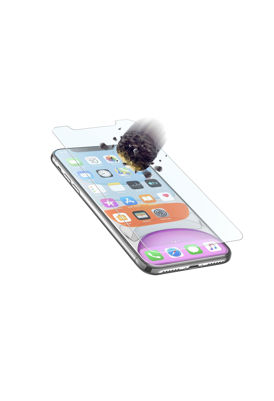 Prémiové ochranné tvrzené sklo Cellularline TETRA FORCE GLASS pro Apple iPhone XR/11