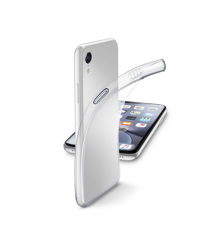Extratenký zadní kryt CellularLine Fine pro Apple iPhone XR, transparentní