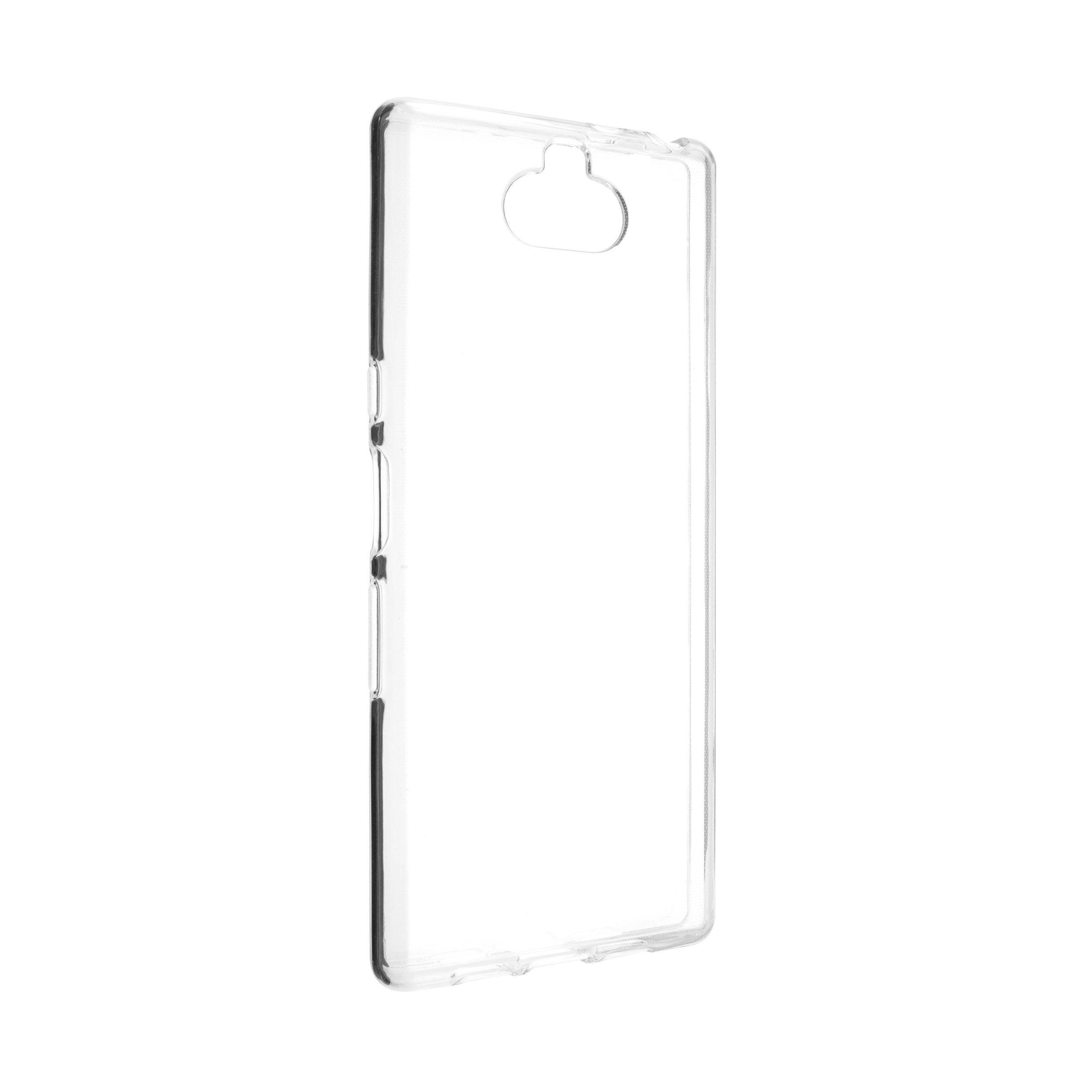 Ultratenké TPU gelové pouzdro FIXED Skin pro Sony Xperia 10, 0,6 mm, čiré
