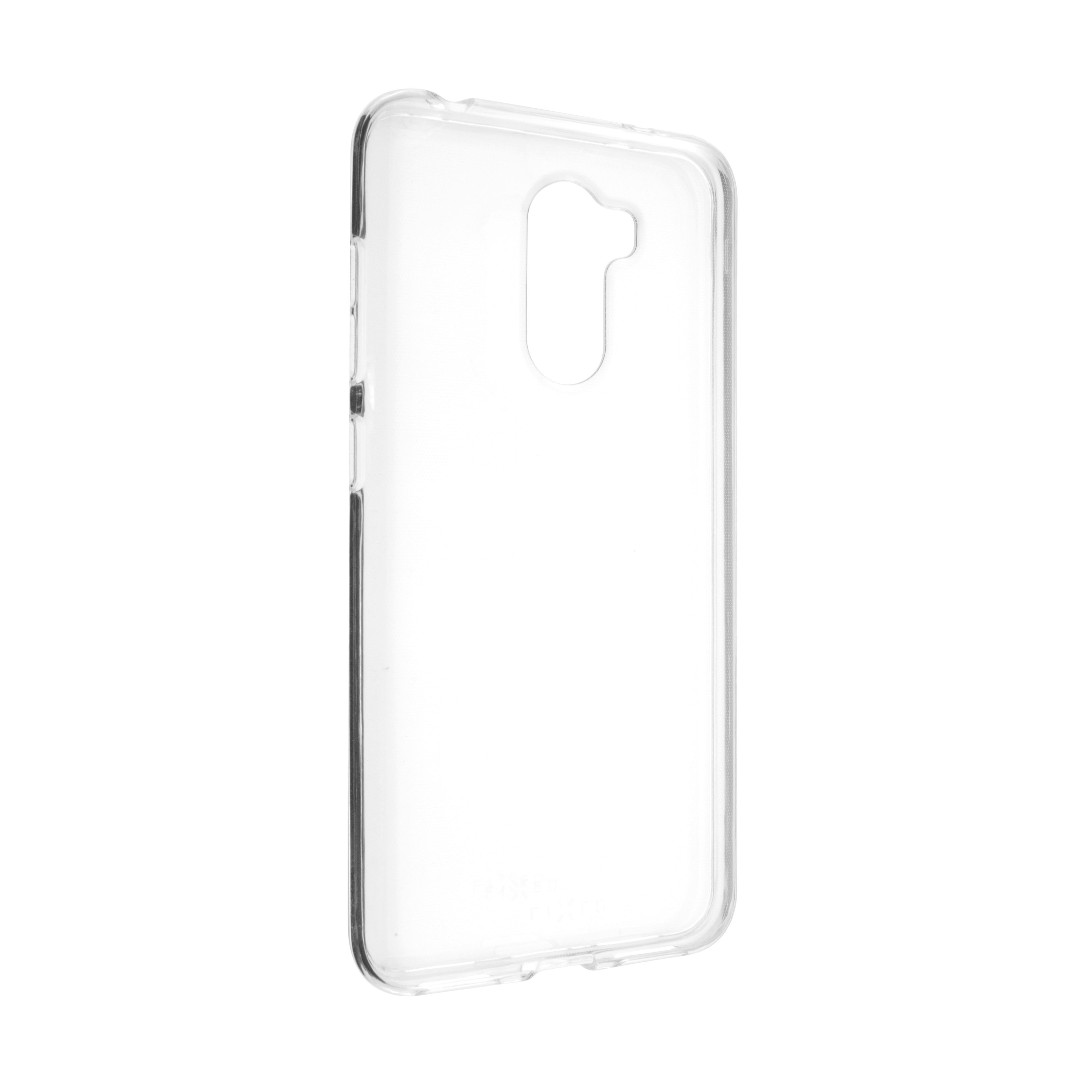 Ultratenké TPU gelové pouzdro FIXED Skin pro Xiaomi Pocophone F1, 0,6 mm, čiré