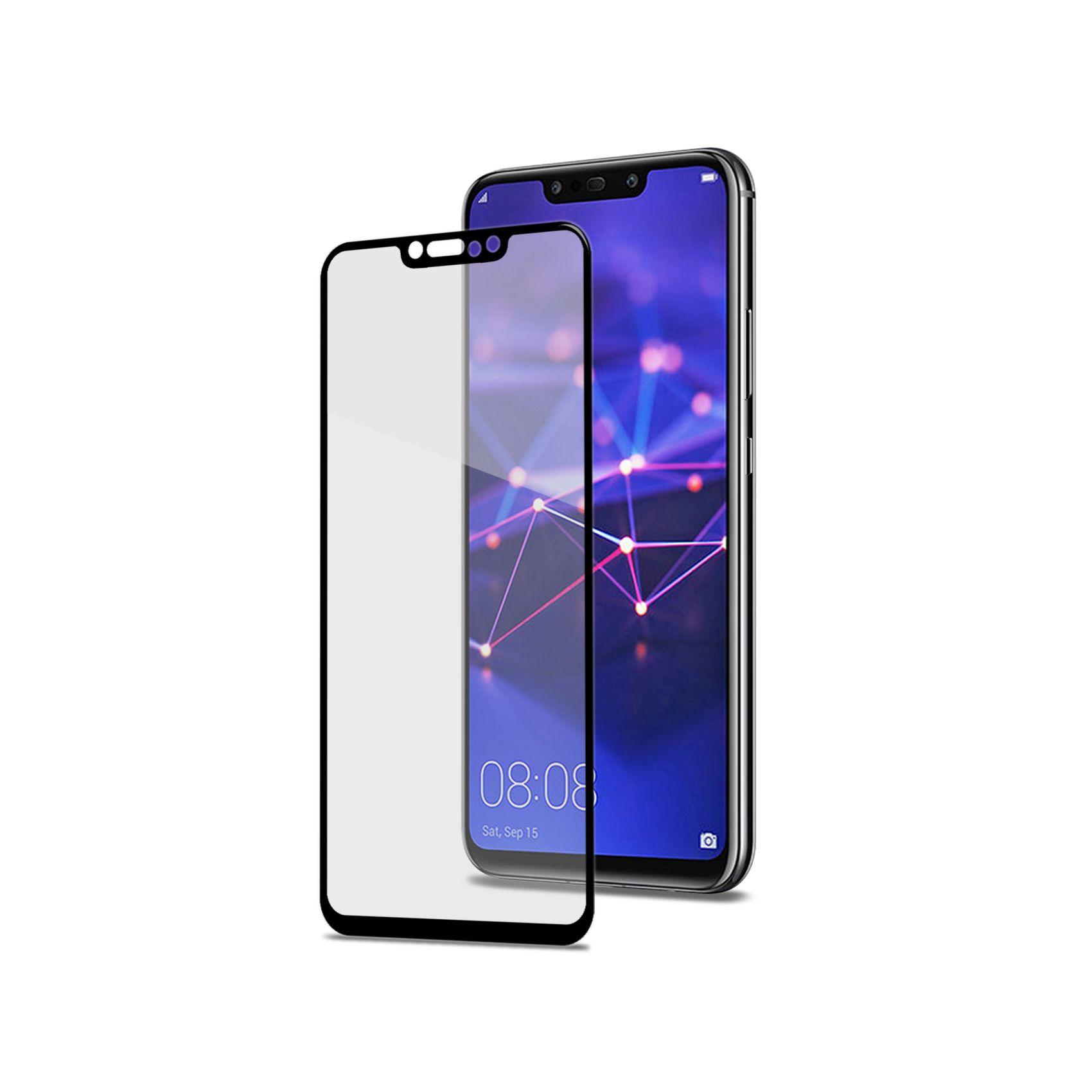 Ochranné tvrzené sklo CELLY Full Glass pro Huawei Mate 20 Lite, černé