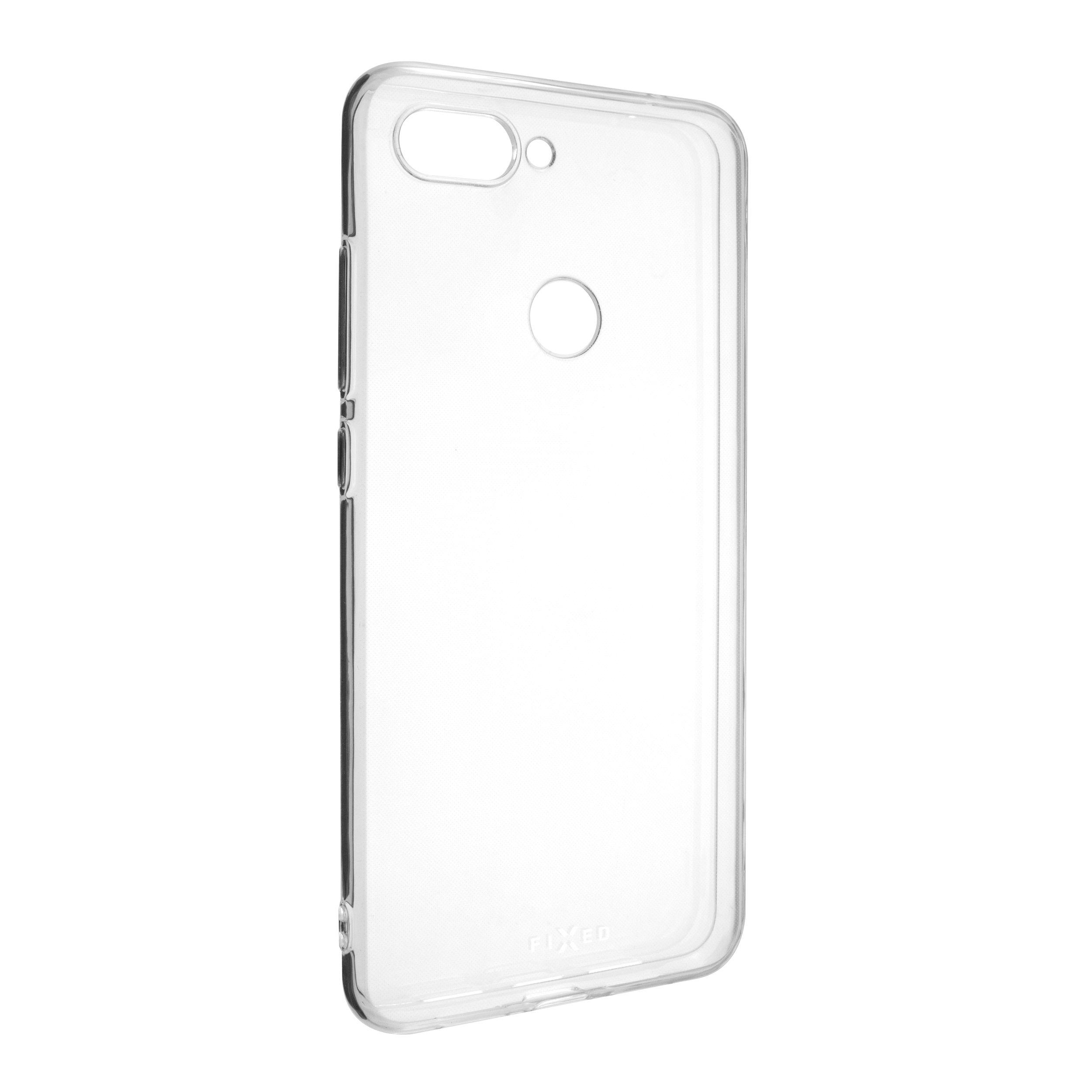 Ultratenké TPU gelové pouzdro FIXED Skin pro Xiaomi Mi8 Lite, 0,6 mm, čiré