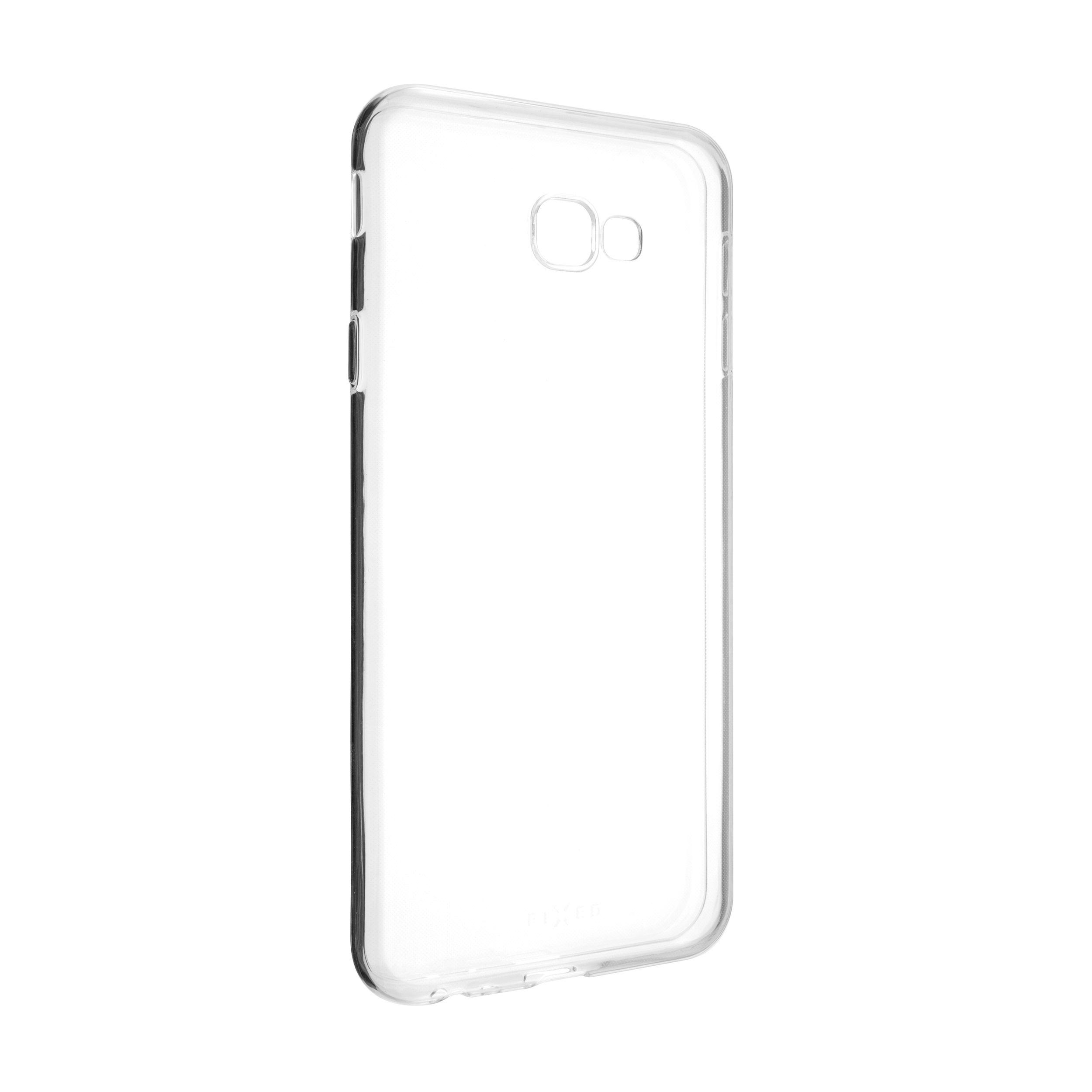 Ultratenké TPU gelové pouzdro FIXED Skin pro Samsung Galaxy J4+, 0,6 mm, čiré