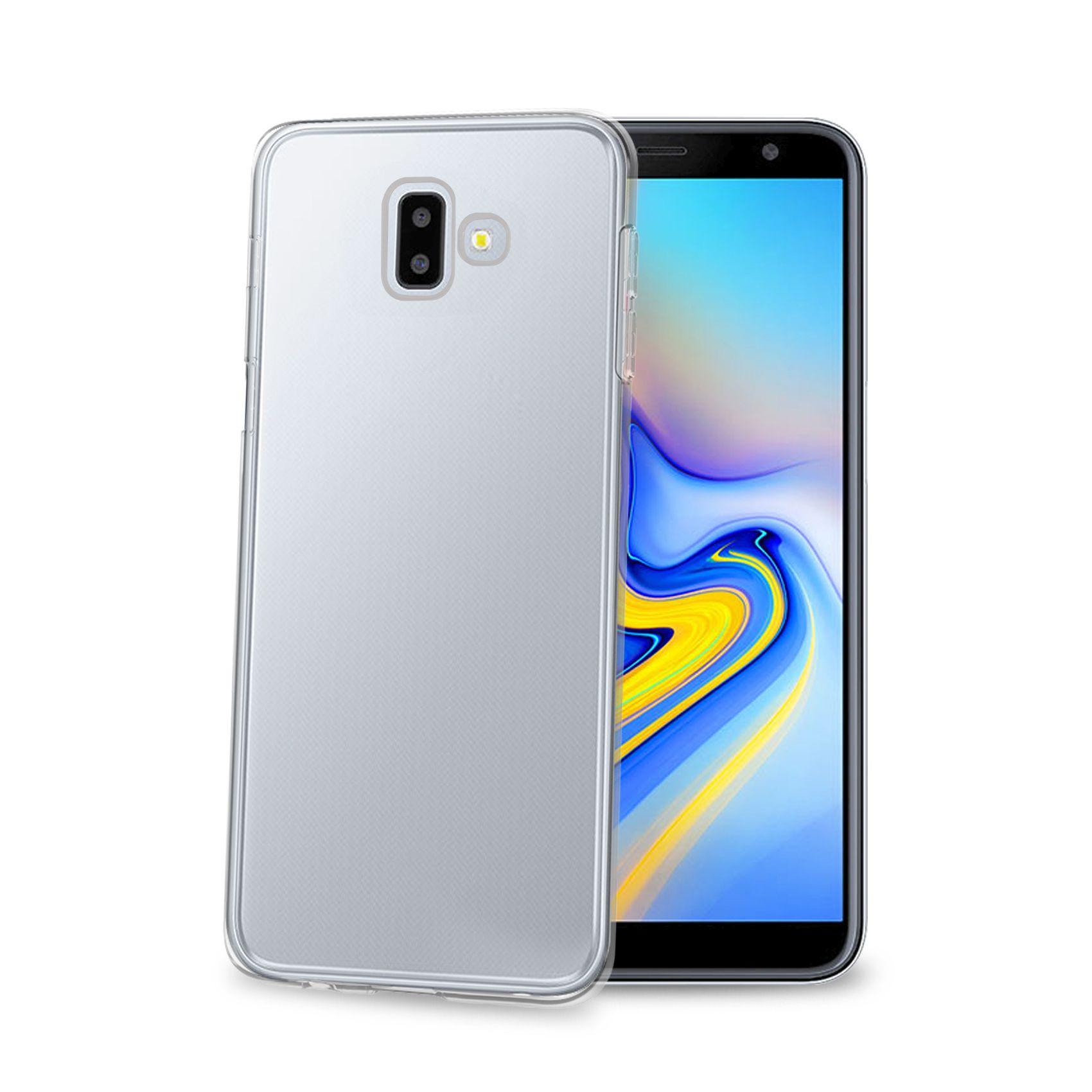 TPU pouzdro CELLY Gelskin pro Samsung Galaxy J6+ (2018), bezbarvé