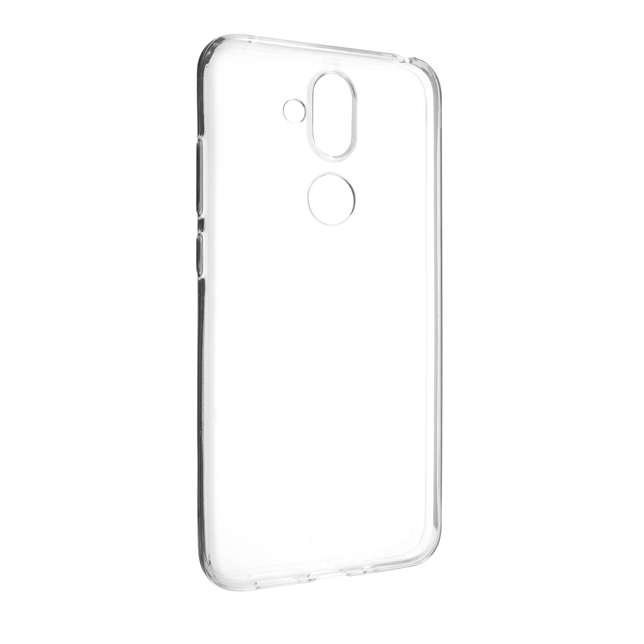 Ultratenké TPU gelové pouzdro FIXED Skin pro Nokia 7.1 Plus, 0,6 mm, čiré