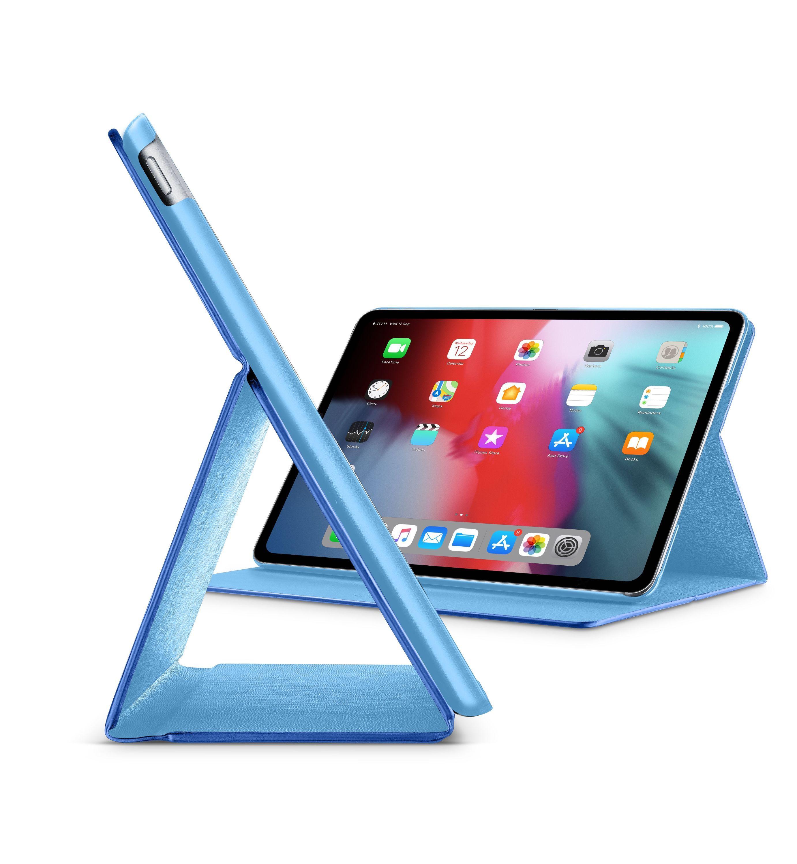 """Pouzdro se stojánkem CellularLine FOLIO pro Apple iPad Pro 11"""" (2018), modré"""