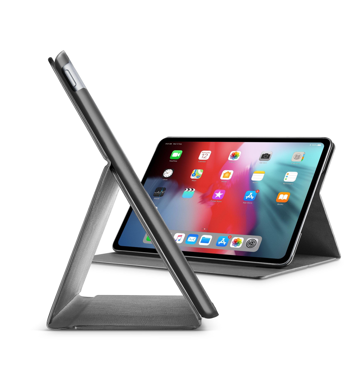 """Pouzdro se stojánkem CellularLine FOLIO pro Apple iPad Pro 12,9"""" (2018), černé"""