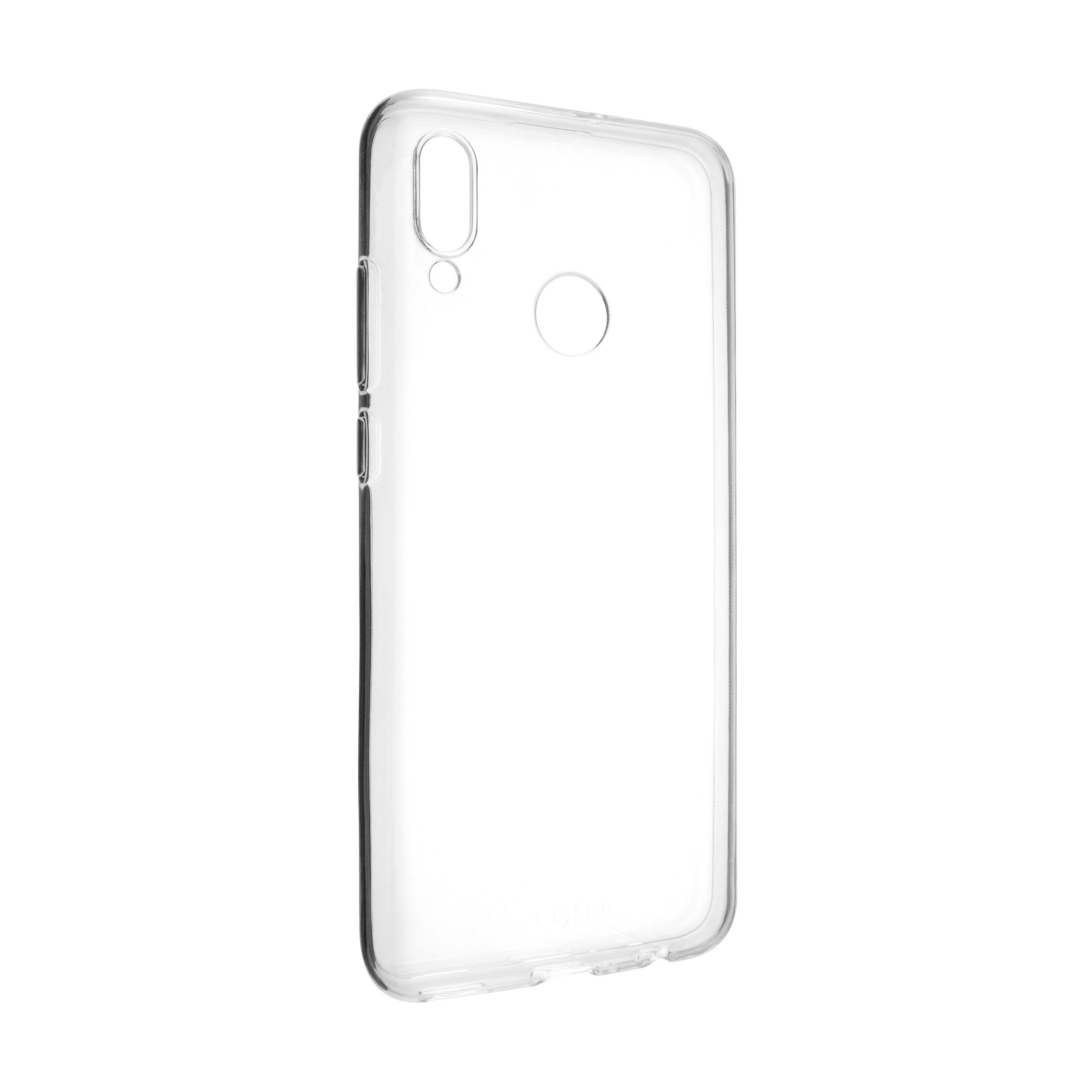Ultratenké TPU gelové pouzdro FIXED Skin pro Huawei P Smart (2019), 0,6 mm, čiré