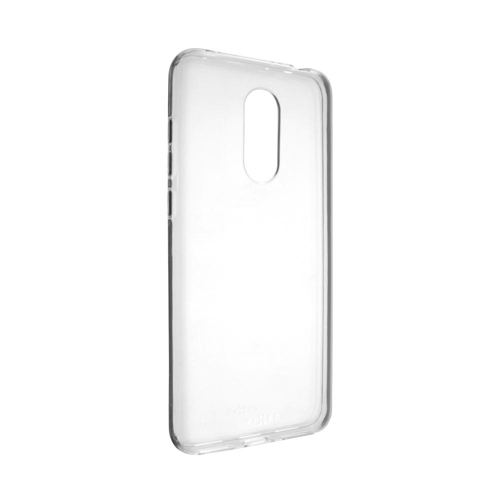 TPU gelové pouzdro FIXED pro Xiaomi Redmi 5 Plus Global, čiré,rozbaleno