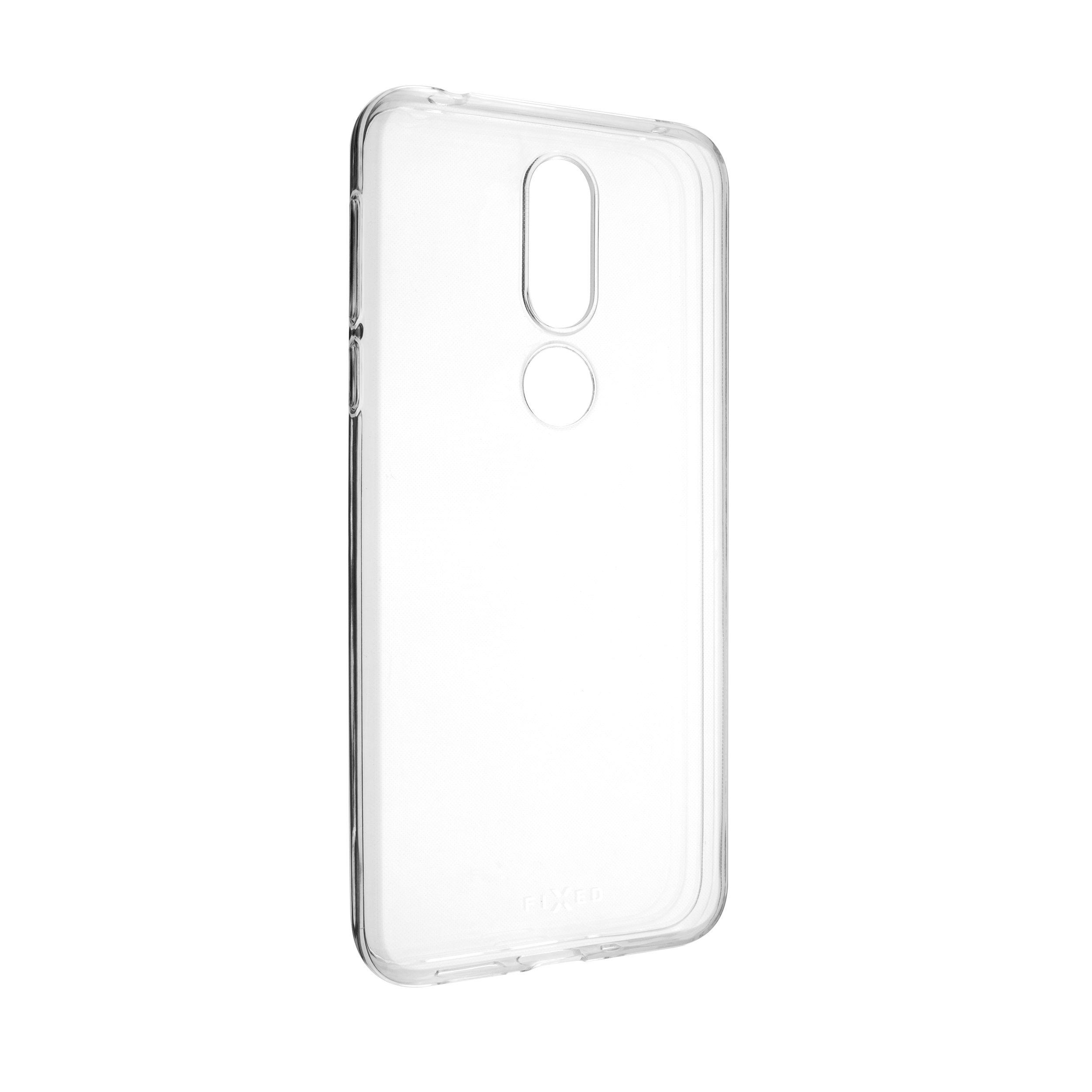 TPU gelové pouzdro FIXED pro Nokia 7.1, čiré