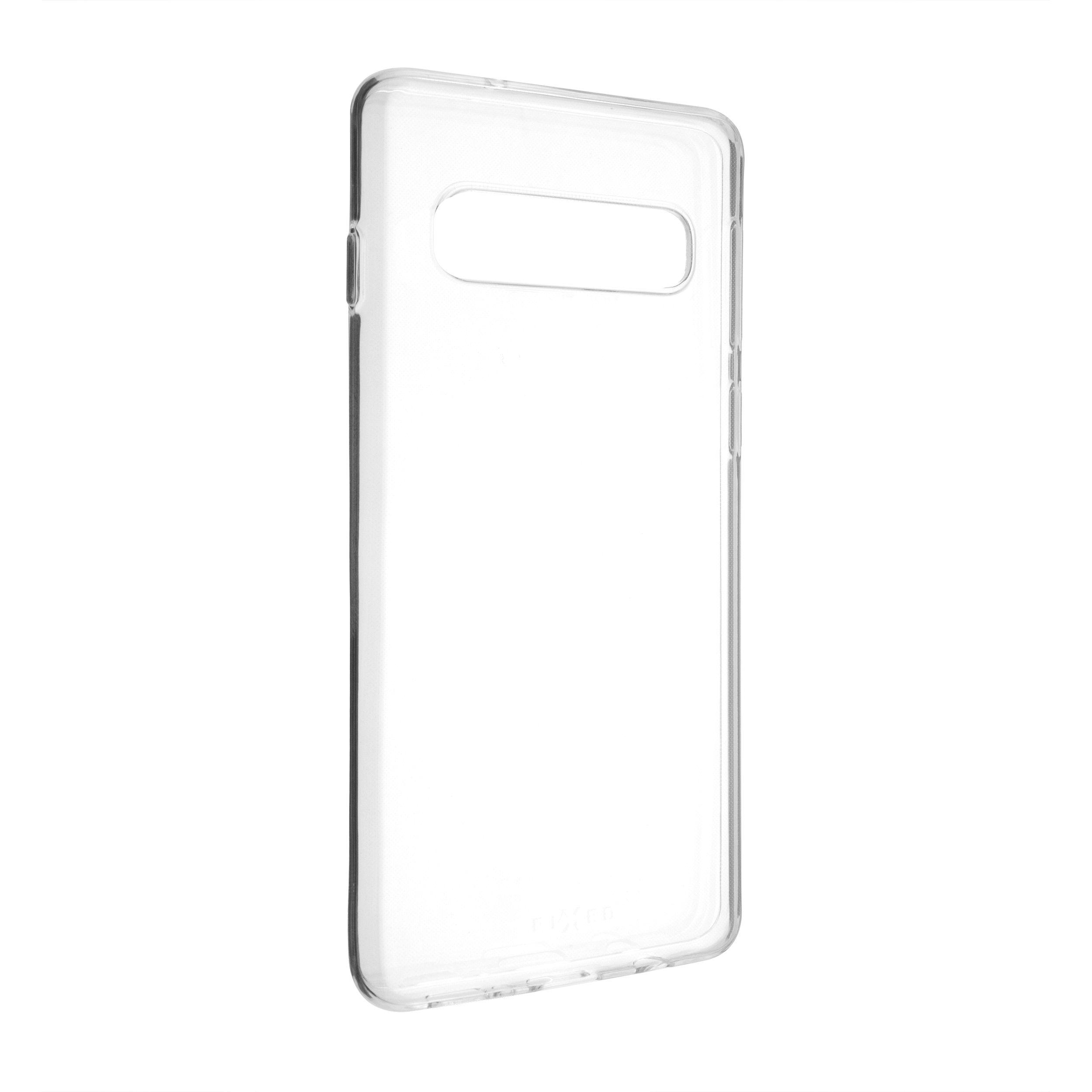 Ultratenké TPU gelové pouzdro FIXED Skin pro Samsung Galaxy S10, 0,6 mm, čiré