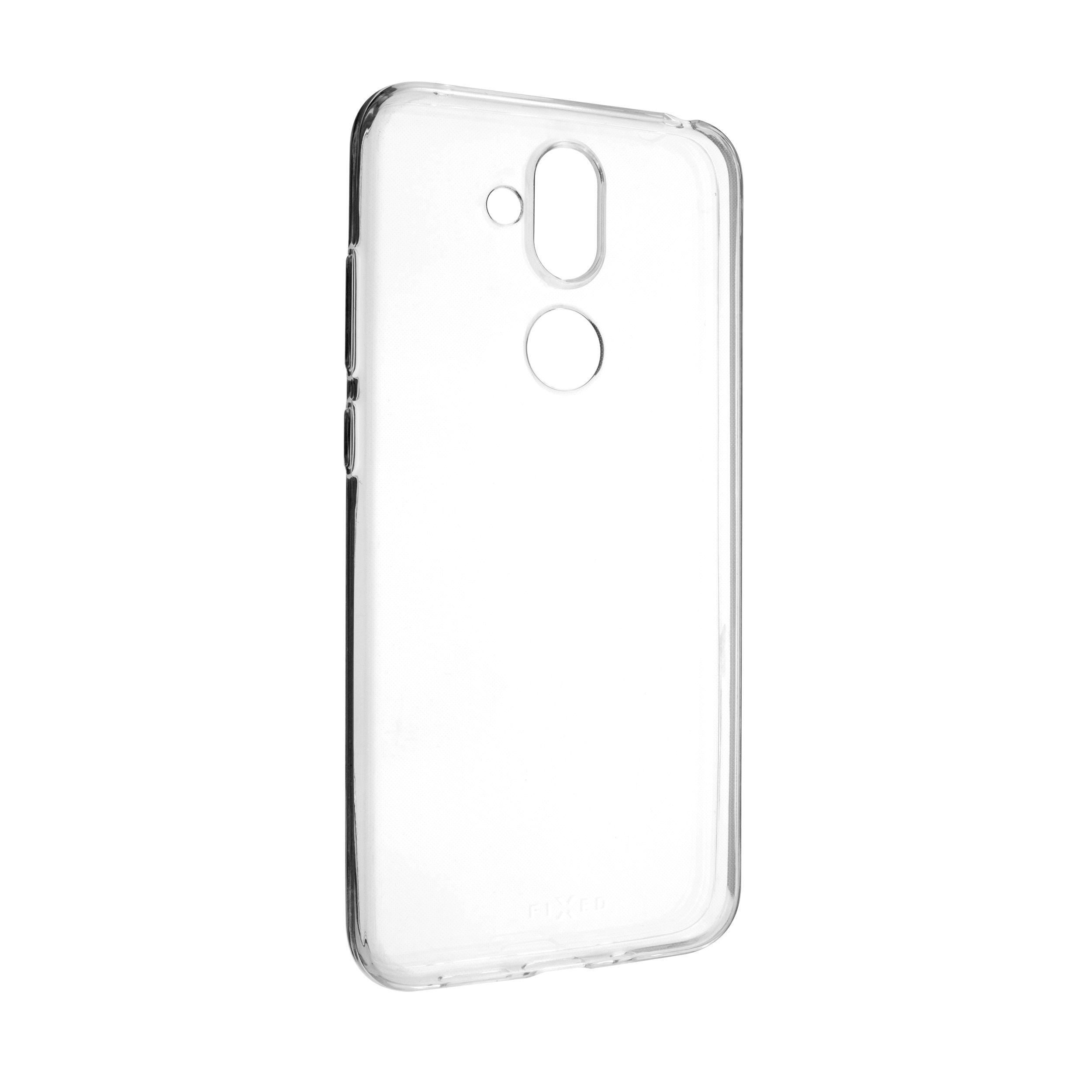 Ultratenké TPU gelové pouzdro FIXED Skin pro Nokia 8.1, 0,6 mm, čiré