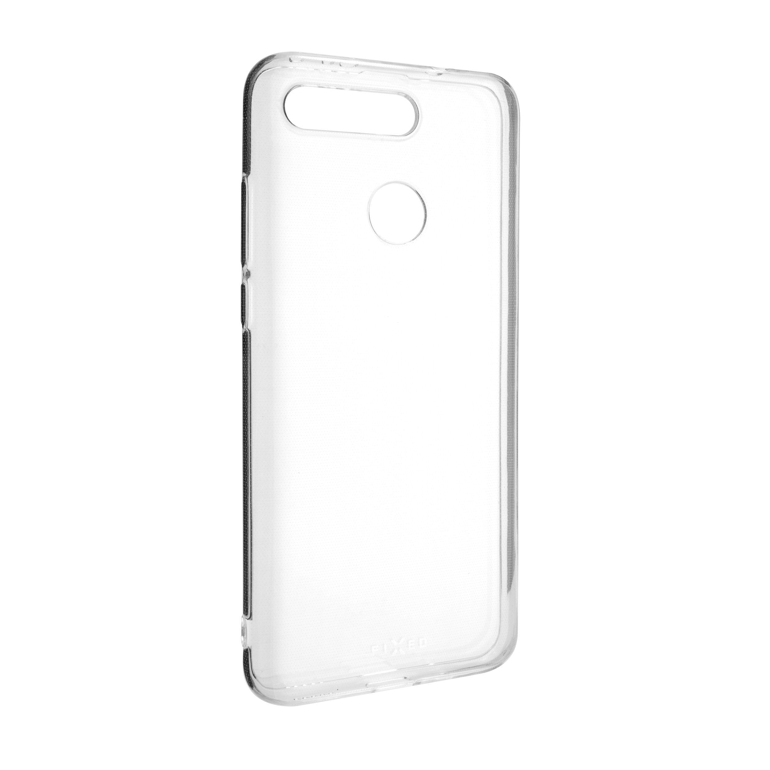Ultratenké TPU gelové pouzdro FIXED Skin pro Honor View 20, 0,6 mm, čiré