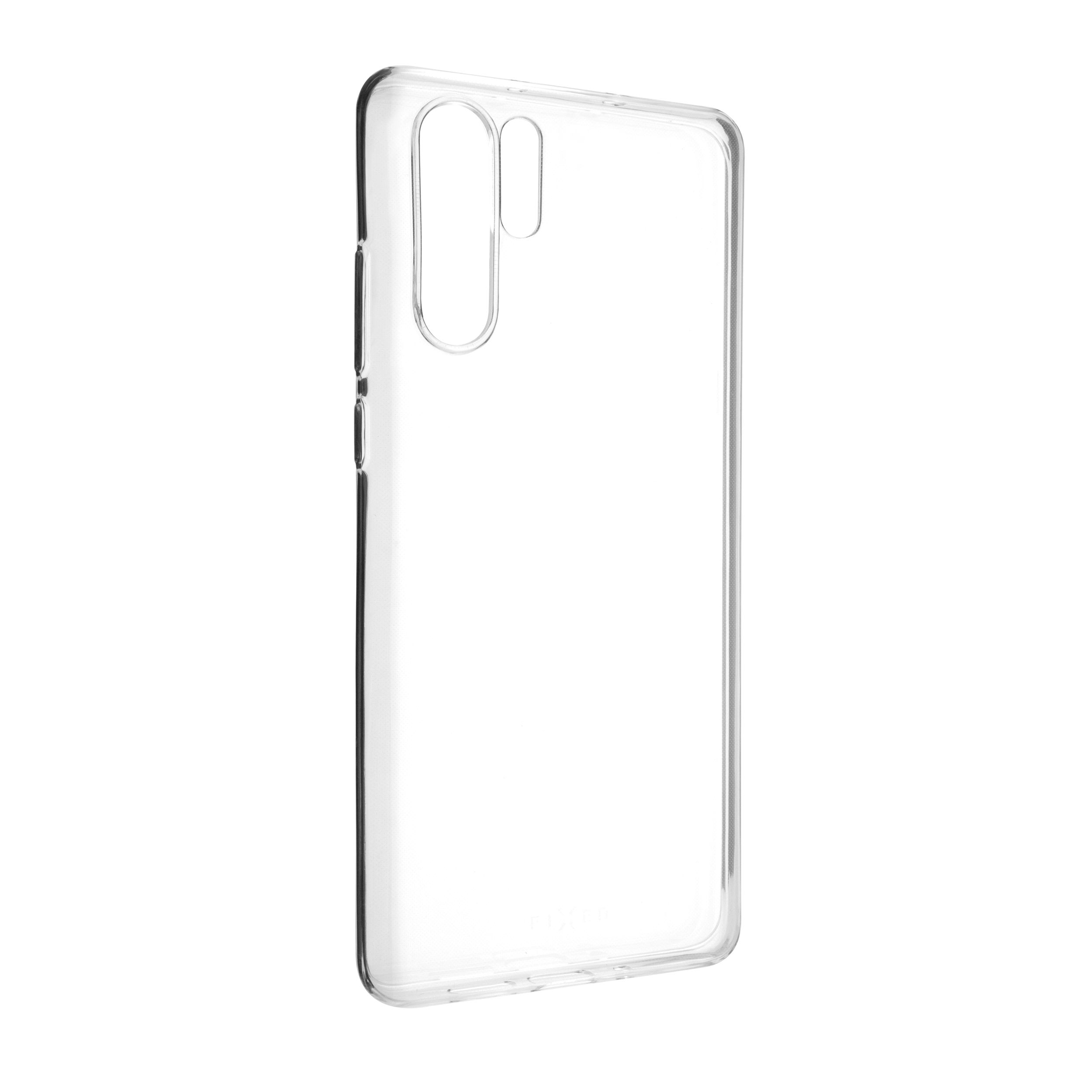 Ultratenké TPU gelové pouzdro FIXED Skin pro Huawei P30 Pro, 0,6 mm, čiré