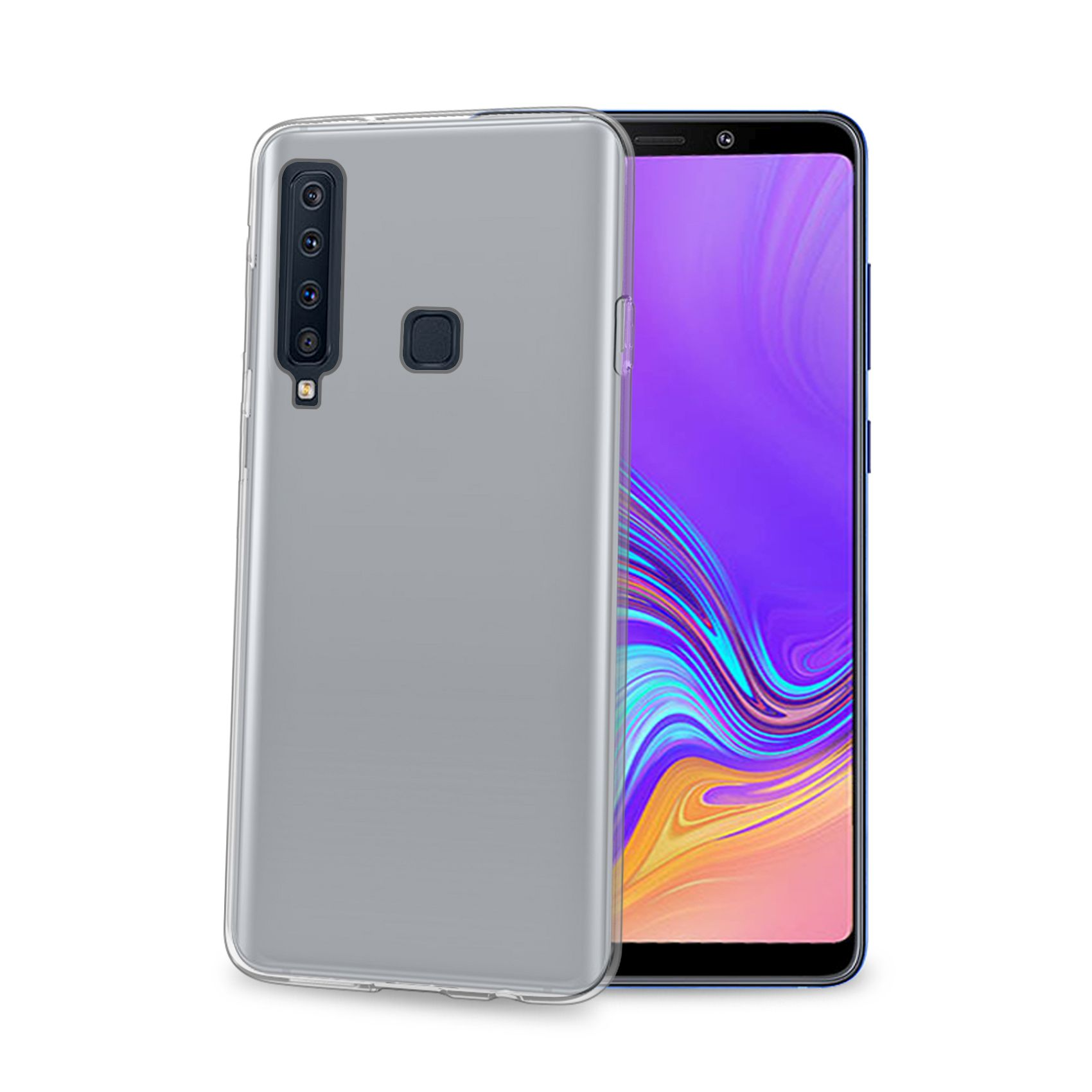 TPU pouzdro CELLY Gelskin pro Samsung Galaxy A9 (2018), bezbarvé
